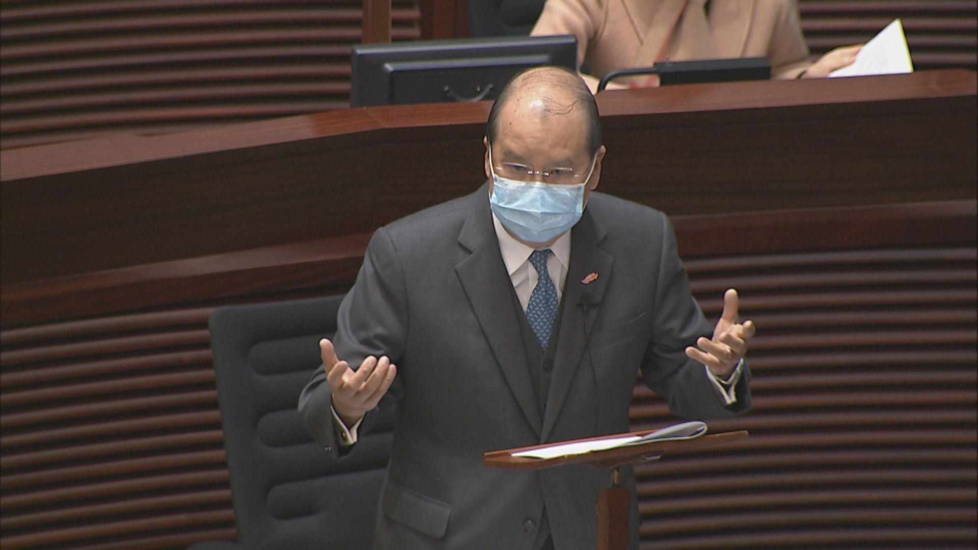 張建宗:疫情已受控 盼市民包容政府