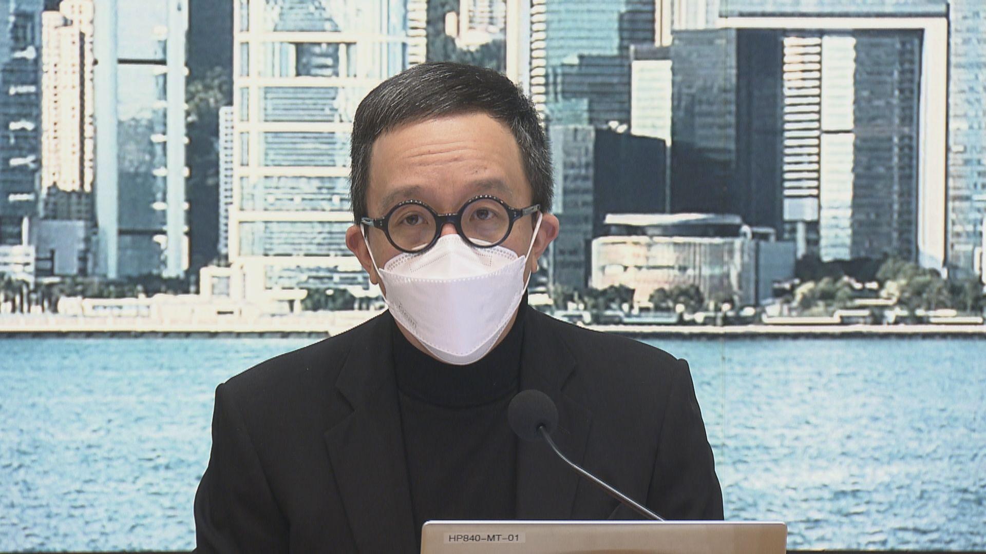 梁卓偉:變種新冠病毒株傳播力達七成半 若傳入本港疫情會不受控
