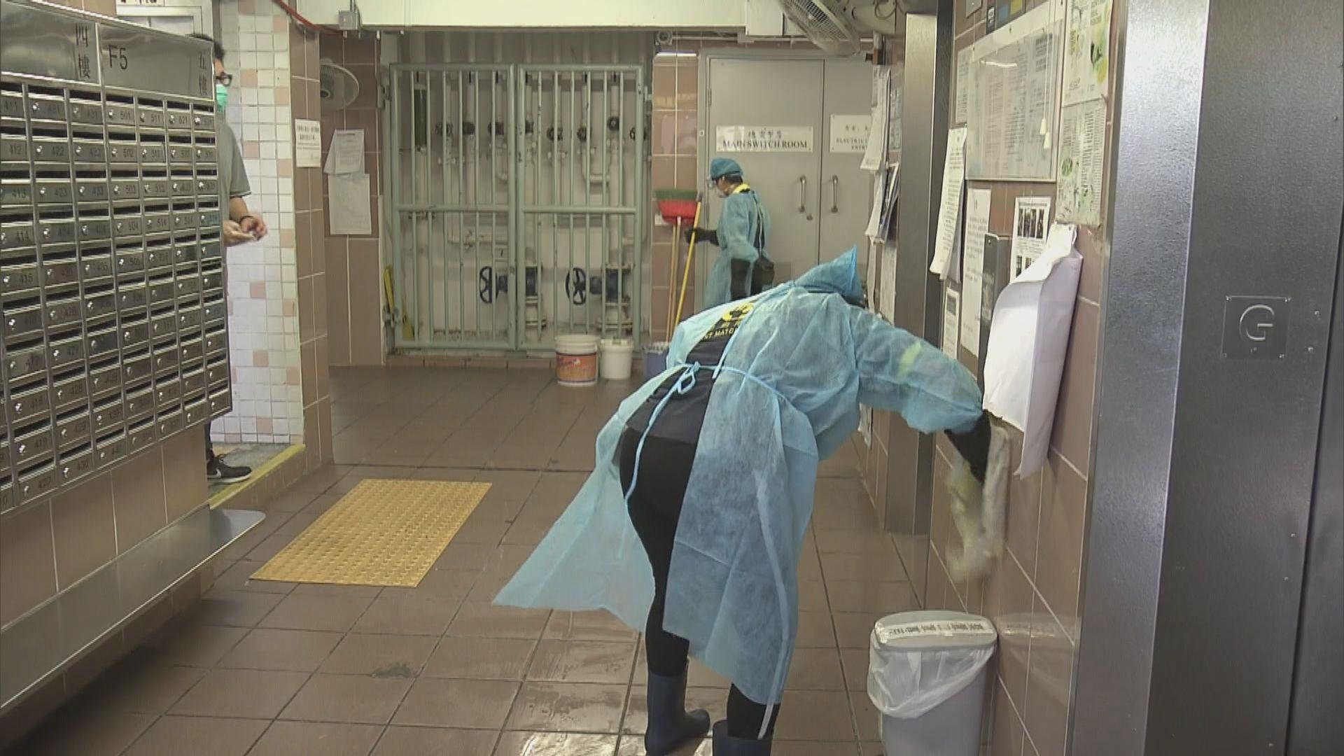祿泉樓加強清潔 衞生署續收集居民深喉唾液樣本