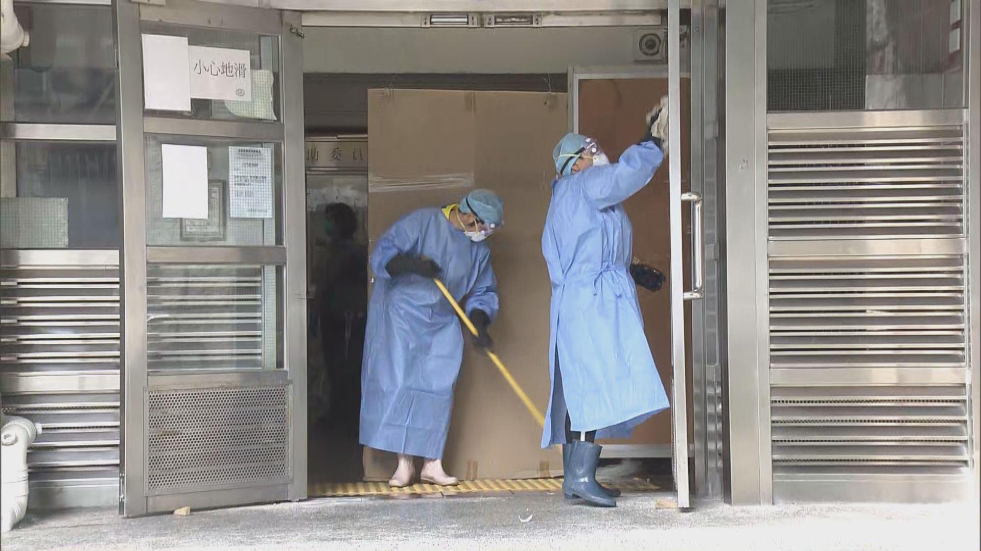 消息:祿泉樓72歲老翁初步確診