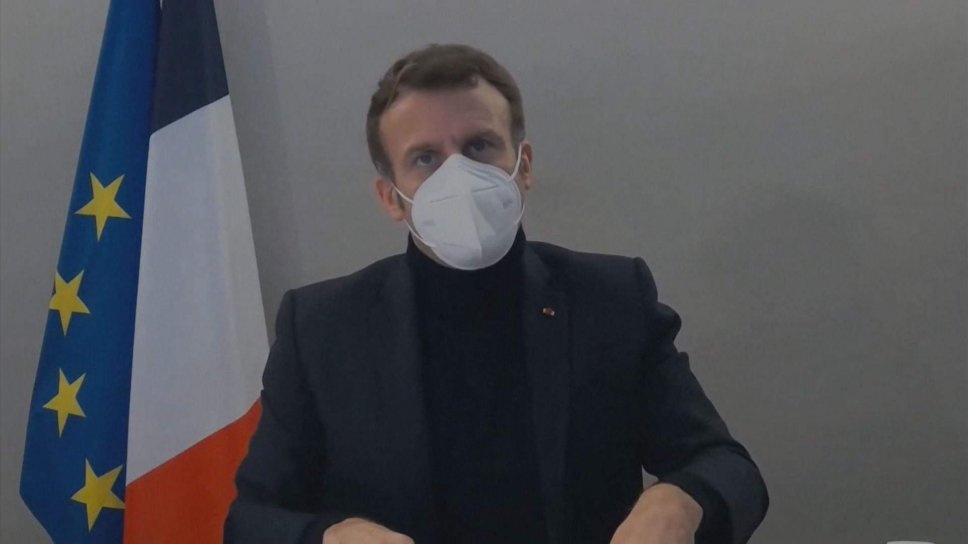 愛麗舍宮:幾乎肯定馬克龍出席歐盟峰會時受感染