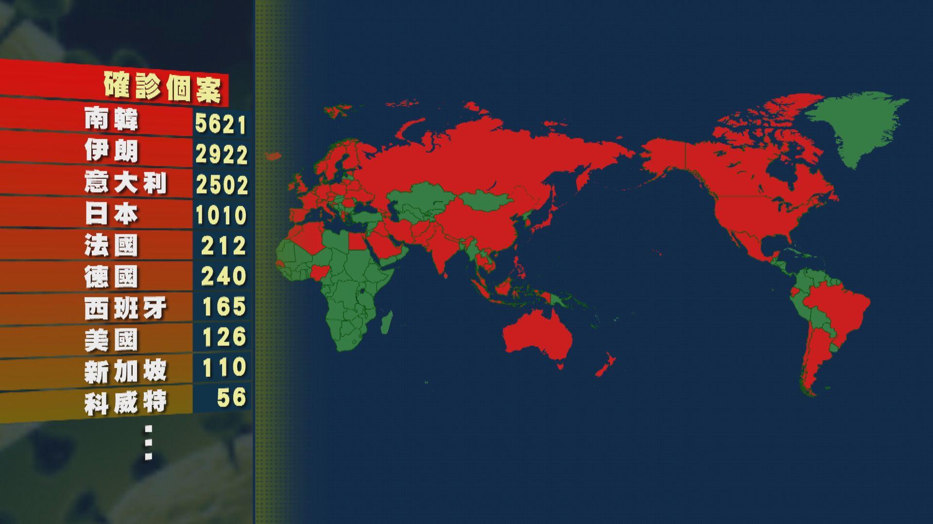 伊朗的確診病例急增586宗 累計2922宗