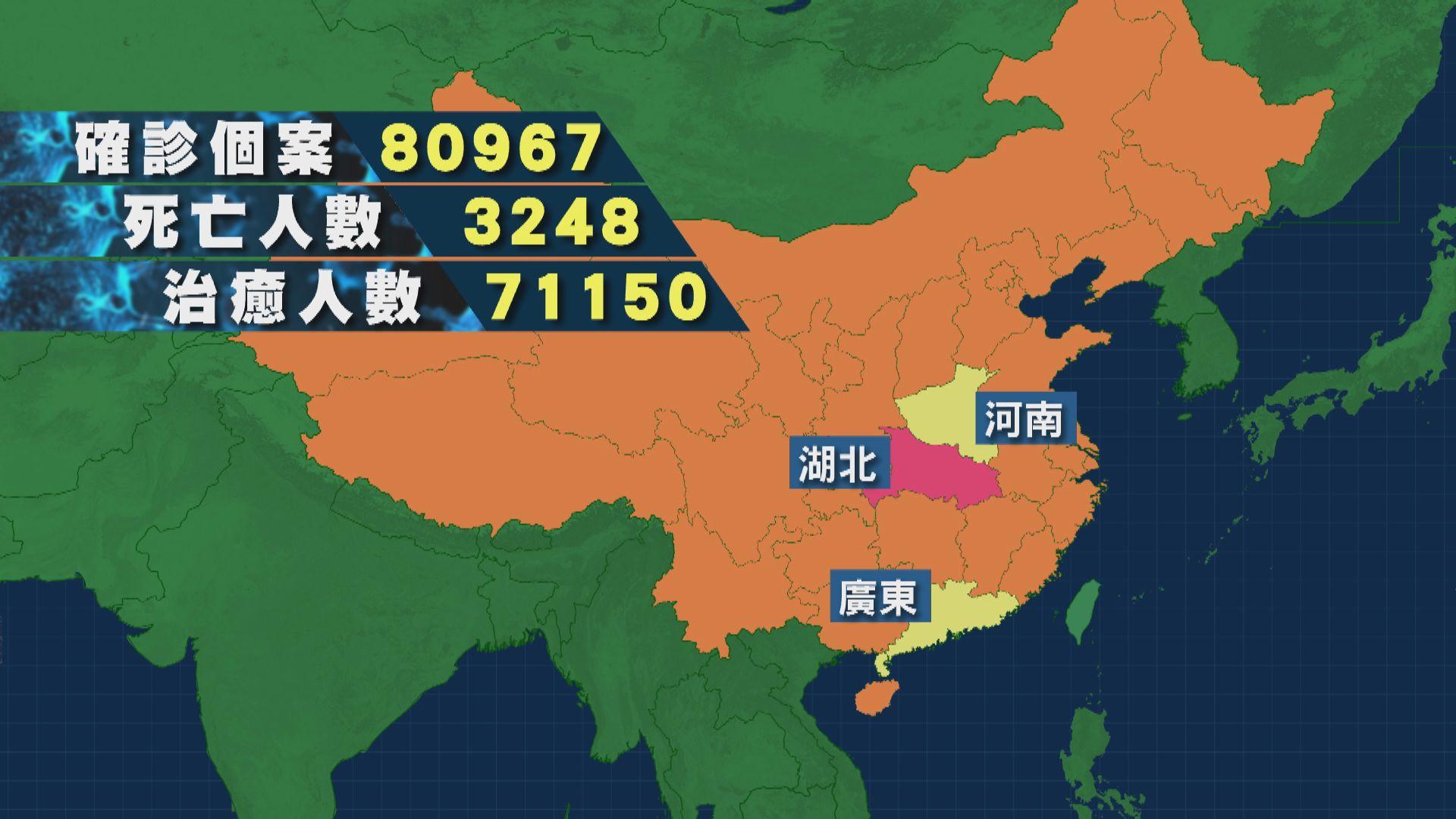 湖北省包括武漢在內 連續第二日無新增確診個案