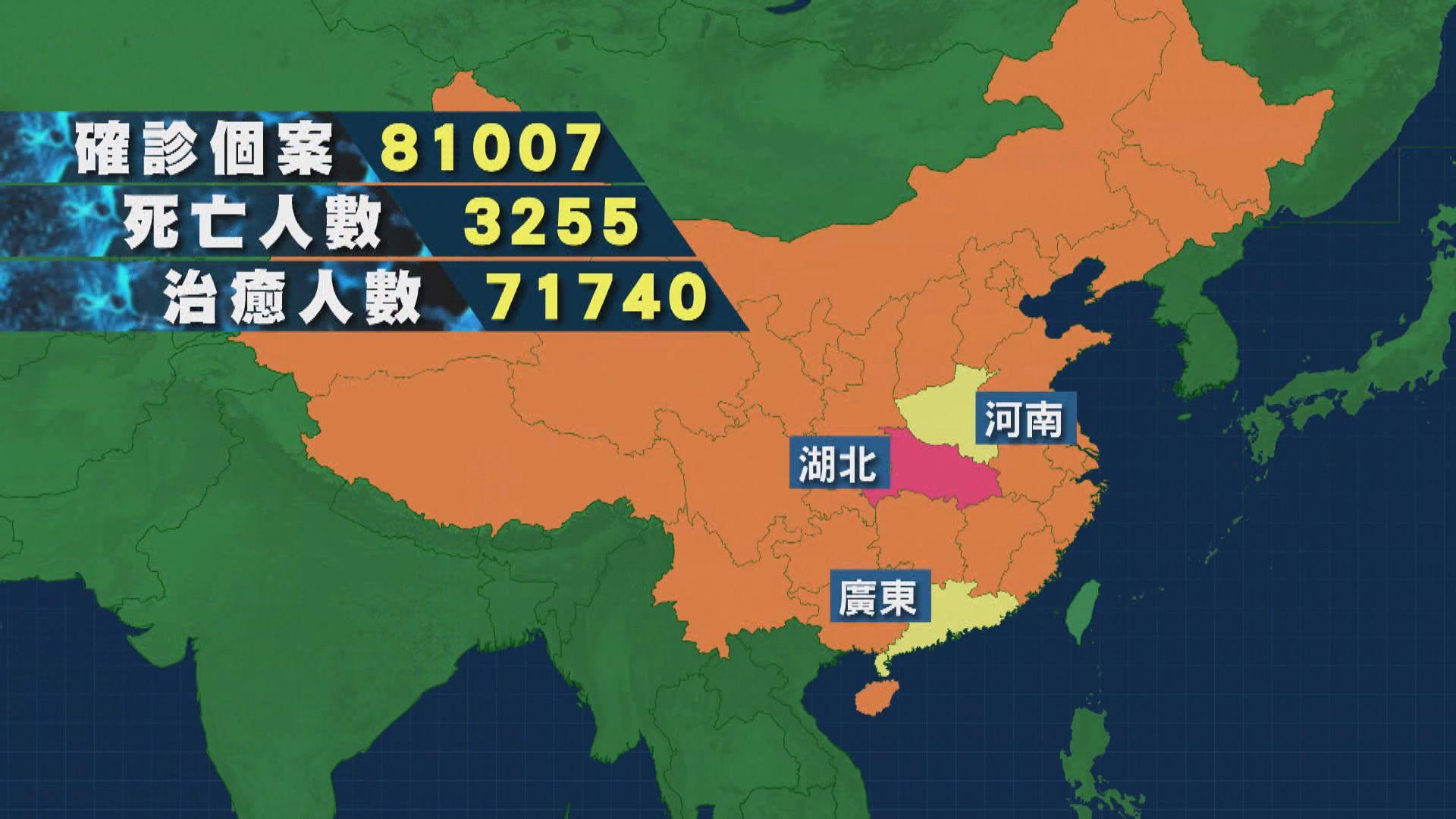 湖北及武漢連續三日零新增個案