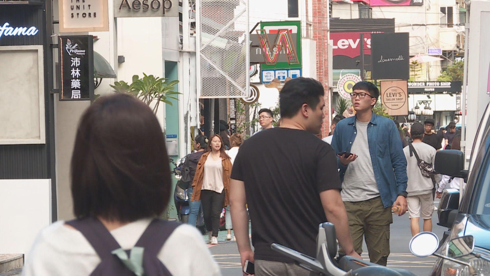 台灣向港澳發黃色旅遊警示 籲如非必要不要前往