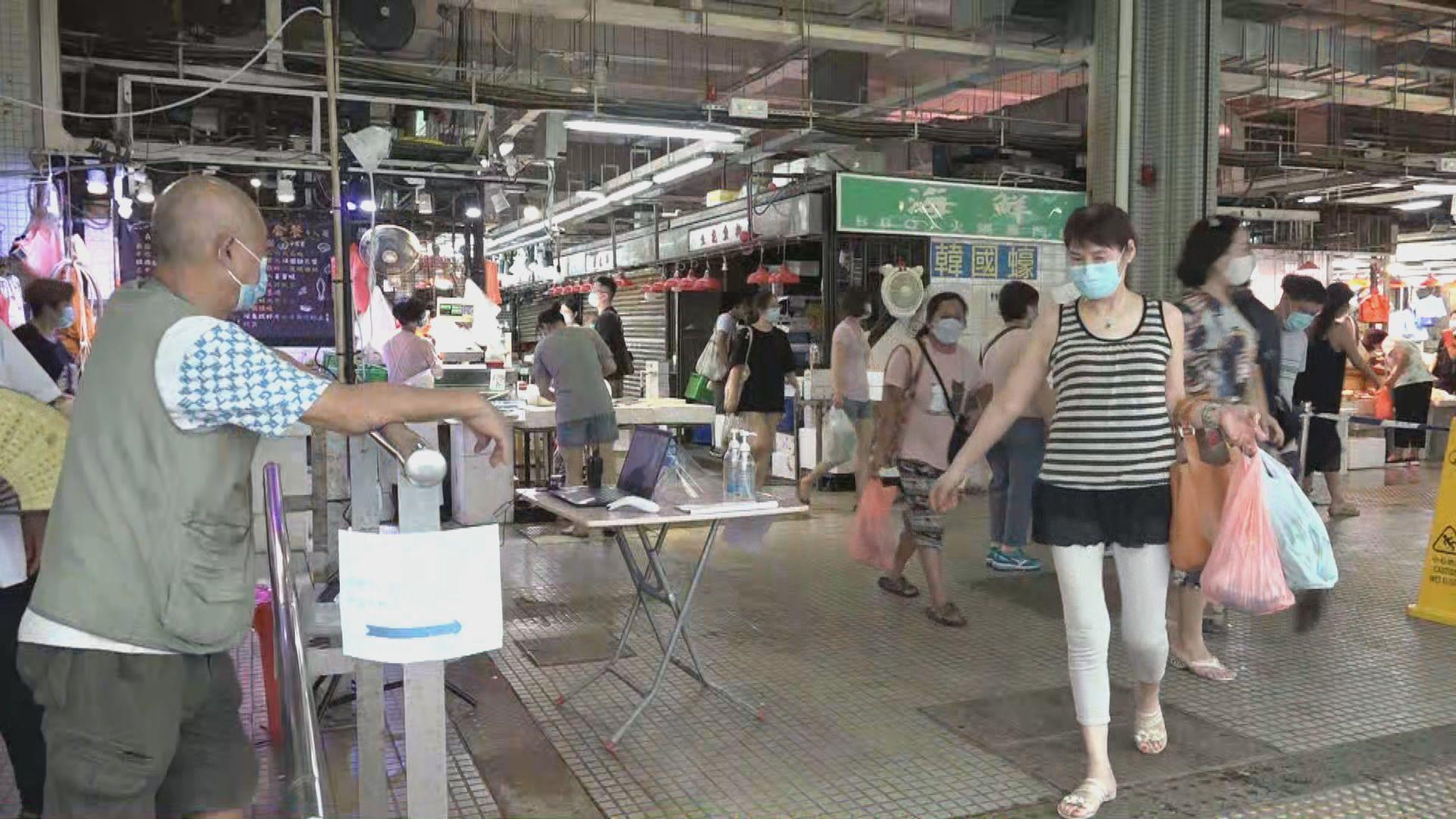 食肆及食環署街市攤檔周六起可登記病毒檢測