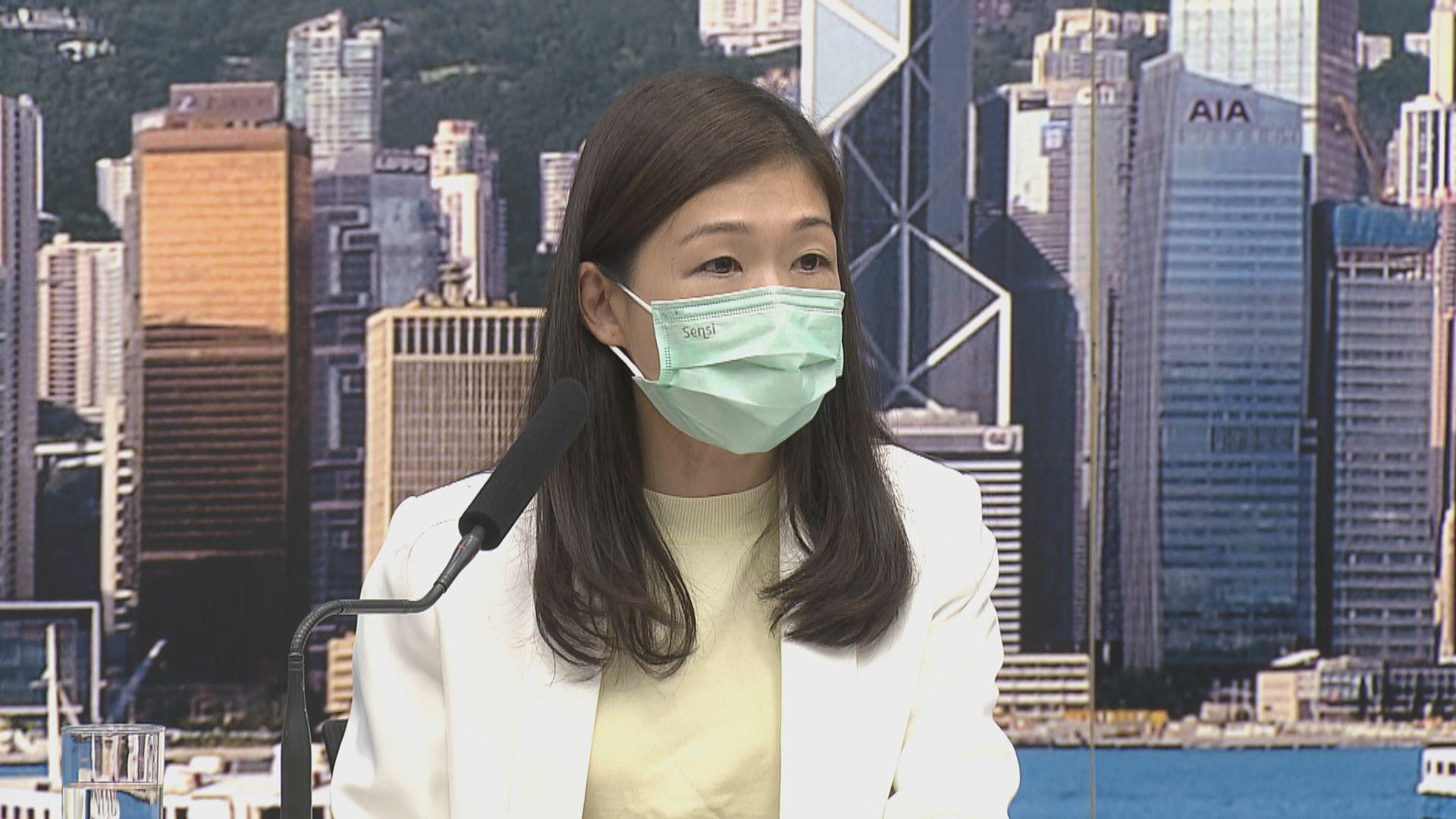 有醫護人員因佩戴不合面型N95口罩要隔離檢疫