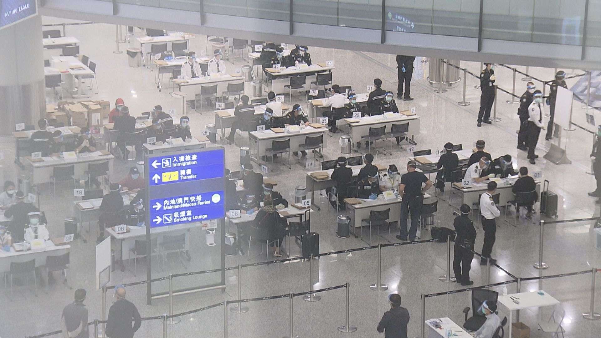 政府列美國為高風險地區 來港登機前須出示檢測證明