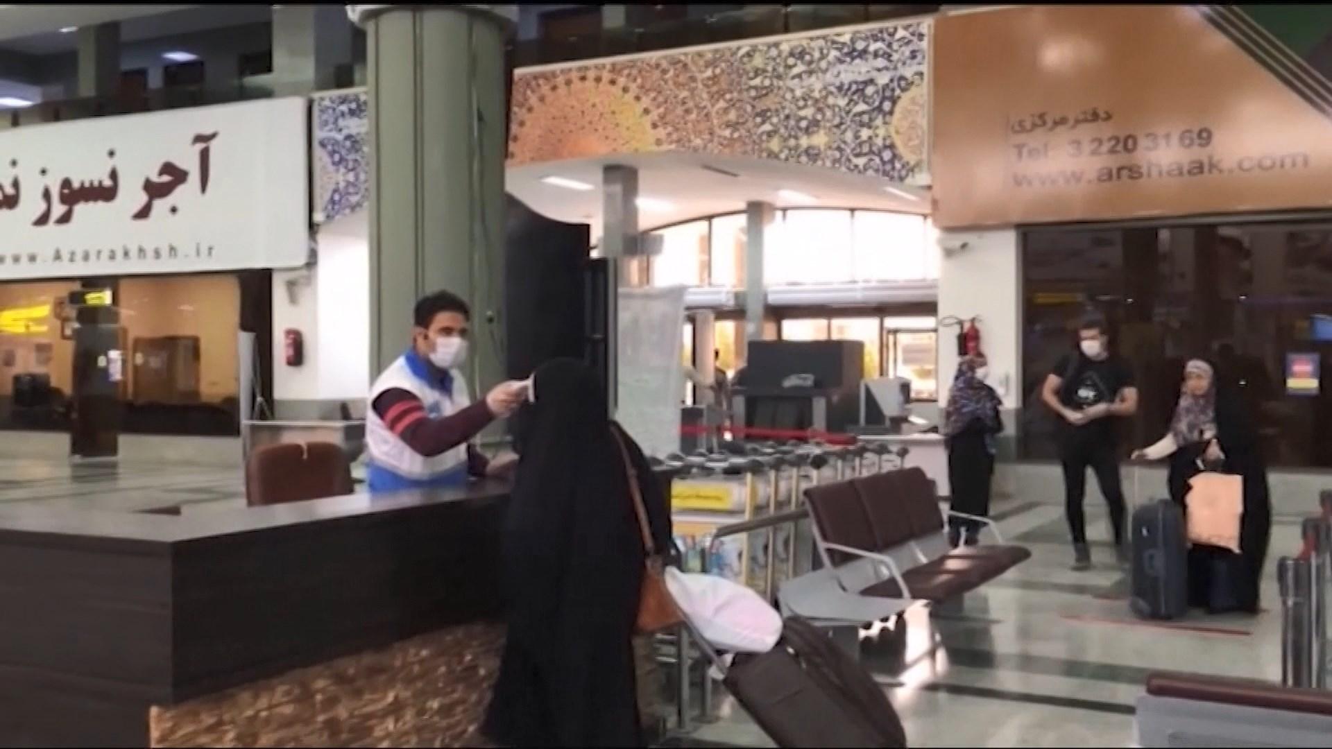 伊朗確診個案逾8000宗 黎巴嫩現首宗死亡個案