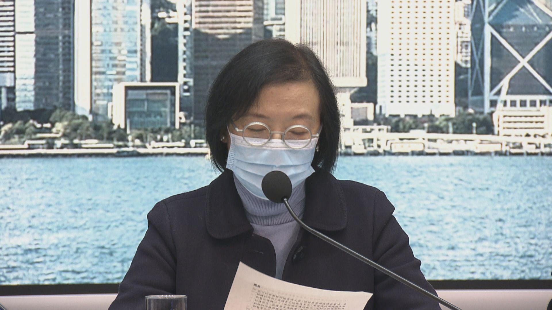 防疫措施延長至明年1月6日 陳肇始:疫情關鍵取決市民能否節日謝絕聚會