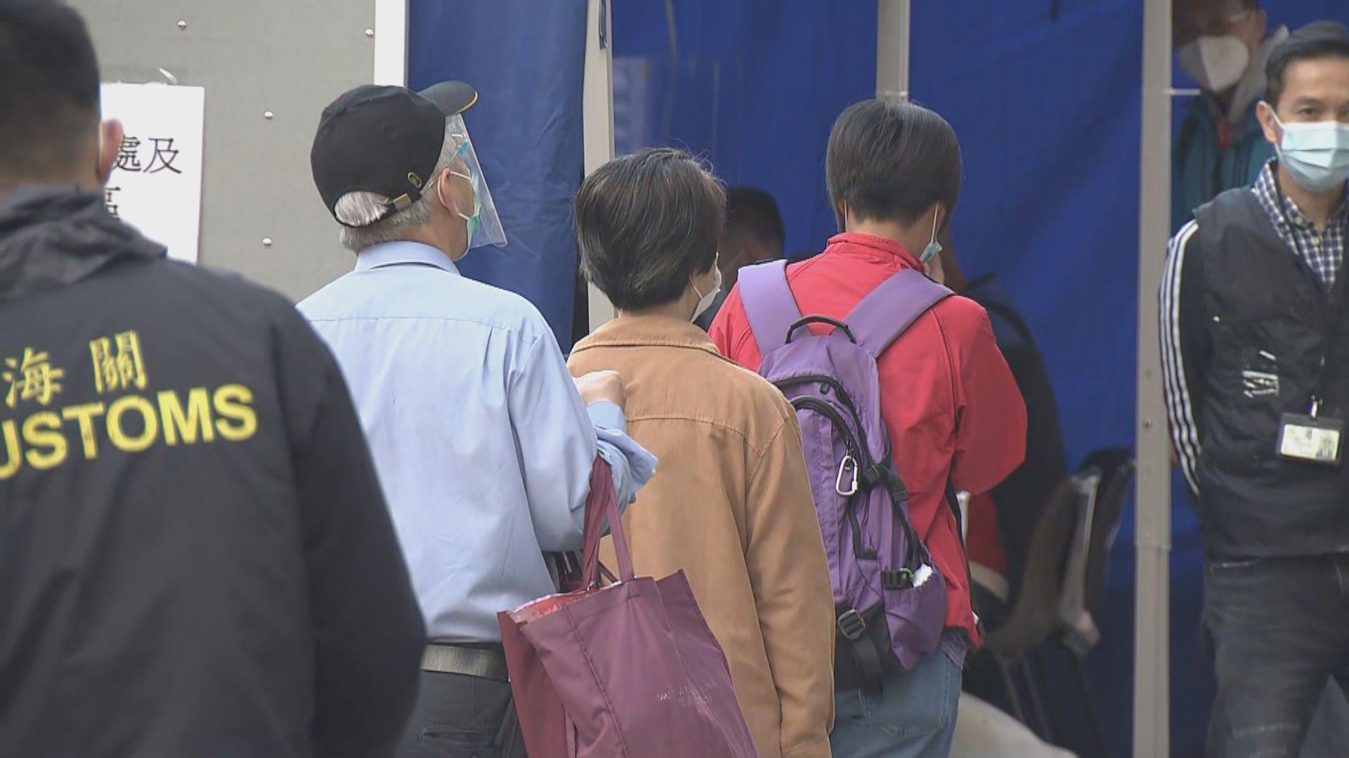 元朗及馬鞍山受限區域逾千人檢測 無確診個案