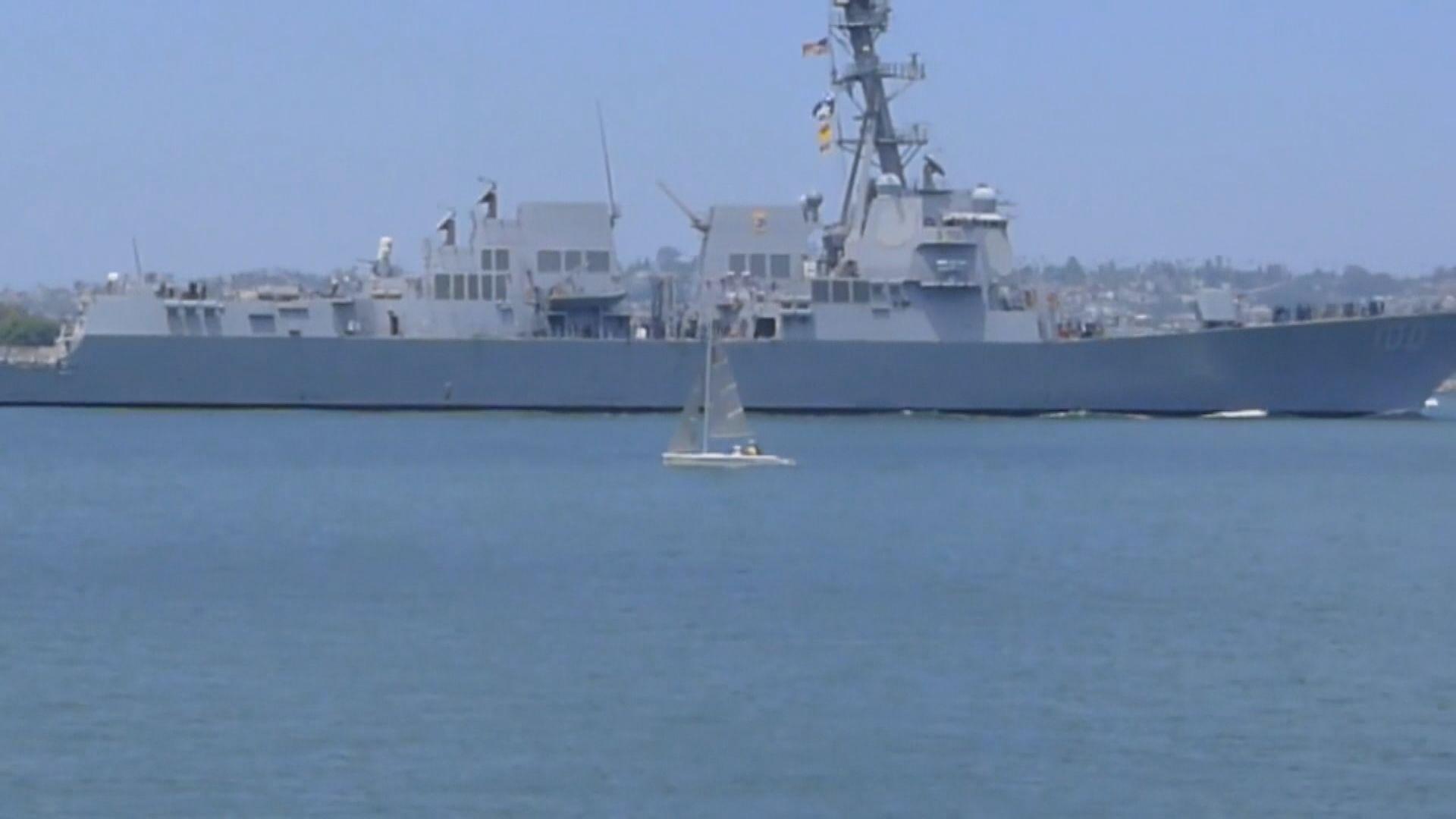 美軍驅逐艦基德號確診人數增至33人