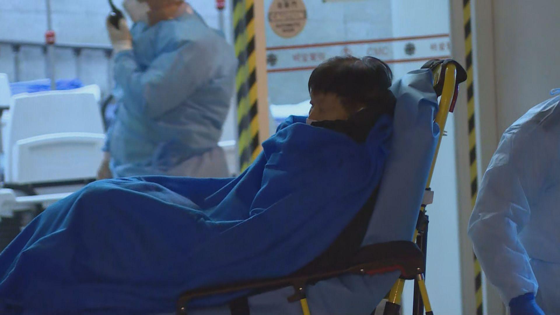 80歲男子確診感染新型冠狀病毒