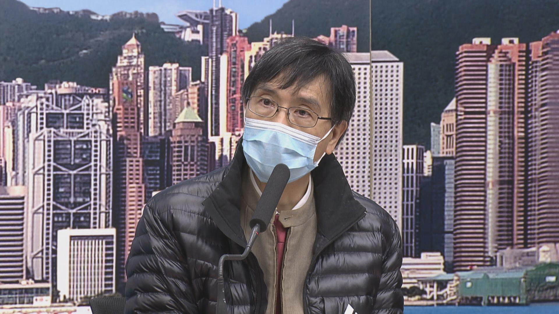 袁國勇︰傳染鏈未完全截斷 個案有機會不斷增加
