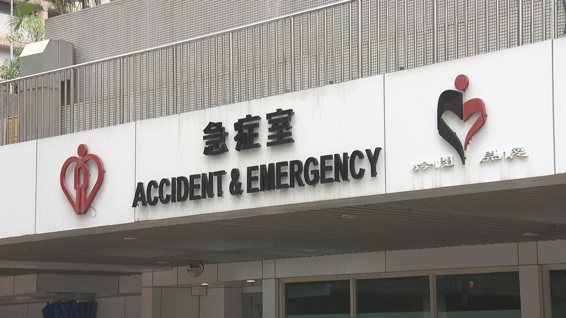 54歲男患者先後四次看私家醫生及兩次急症室