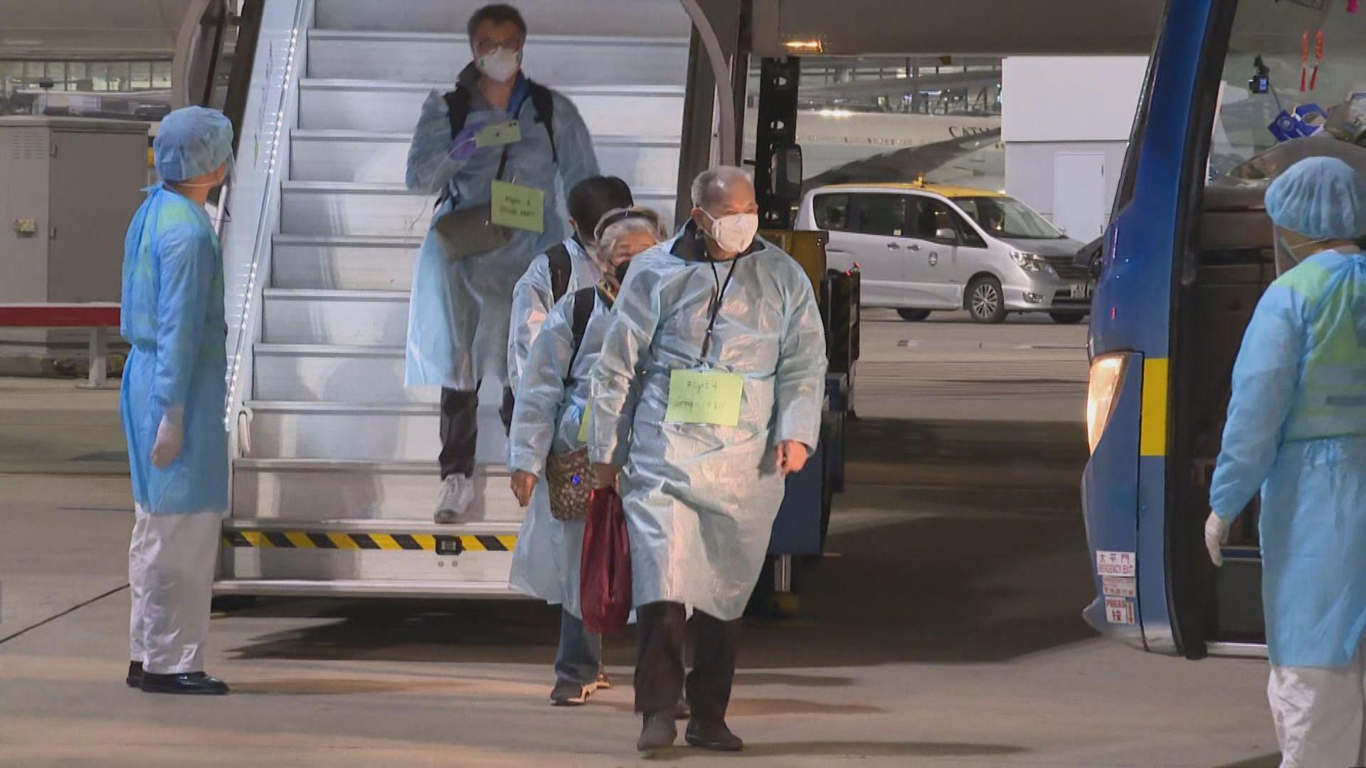 38歲女子乘政府包機湖北返港後確診