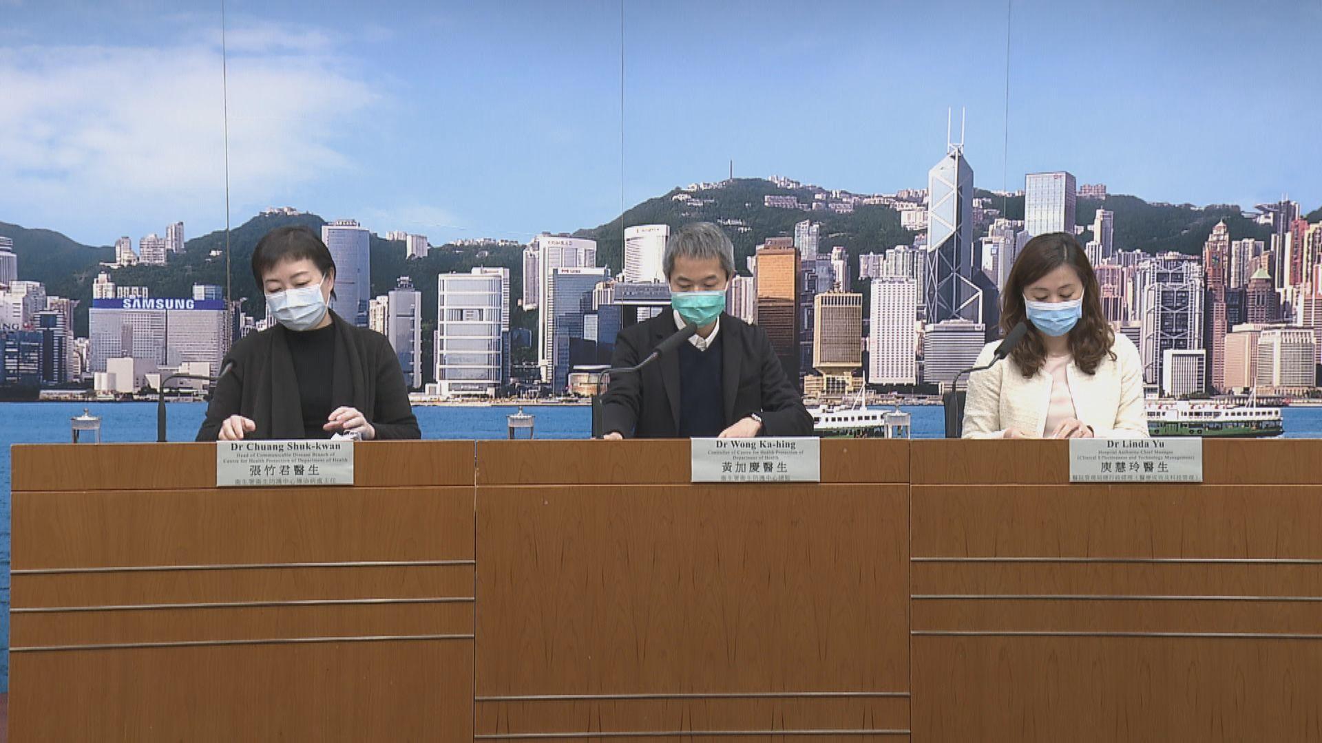 本港新增25人確診新型冠狀病毒 累計192人確診