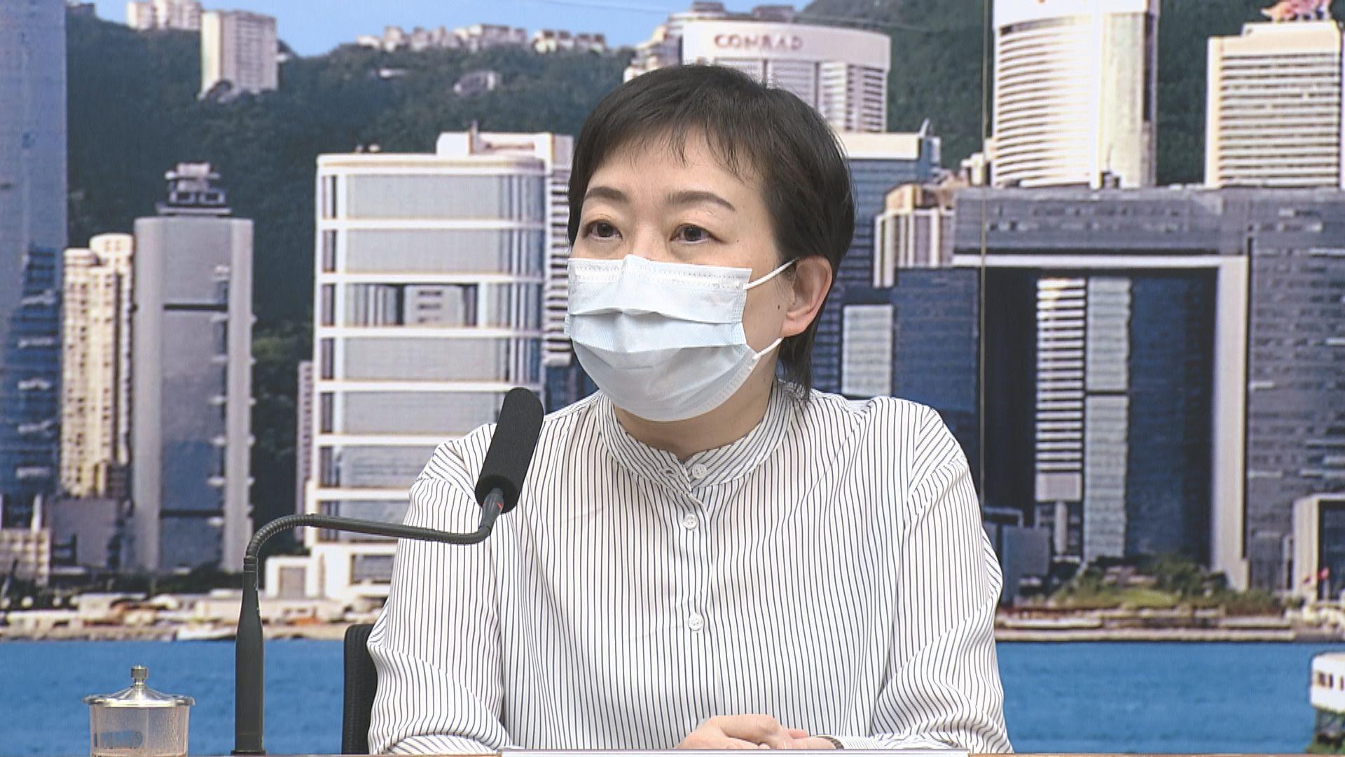 張竹君:圍堵政策失效 市民或需減少社交