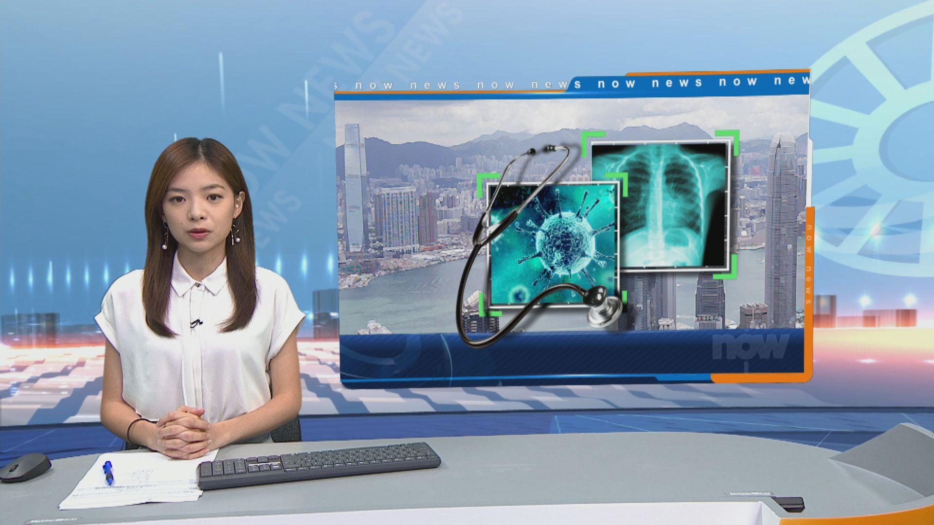 消息:本港新增約50宗確診及初步確診個案