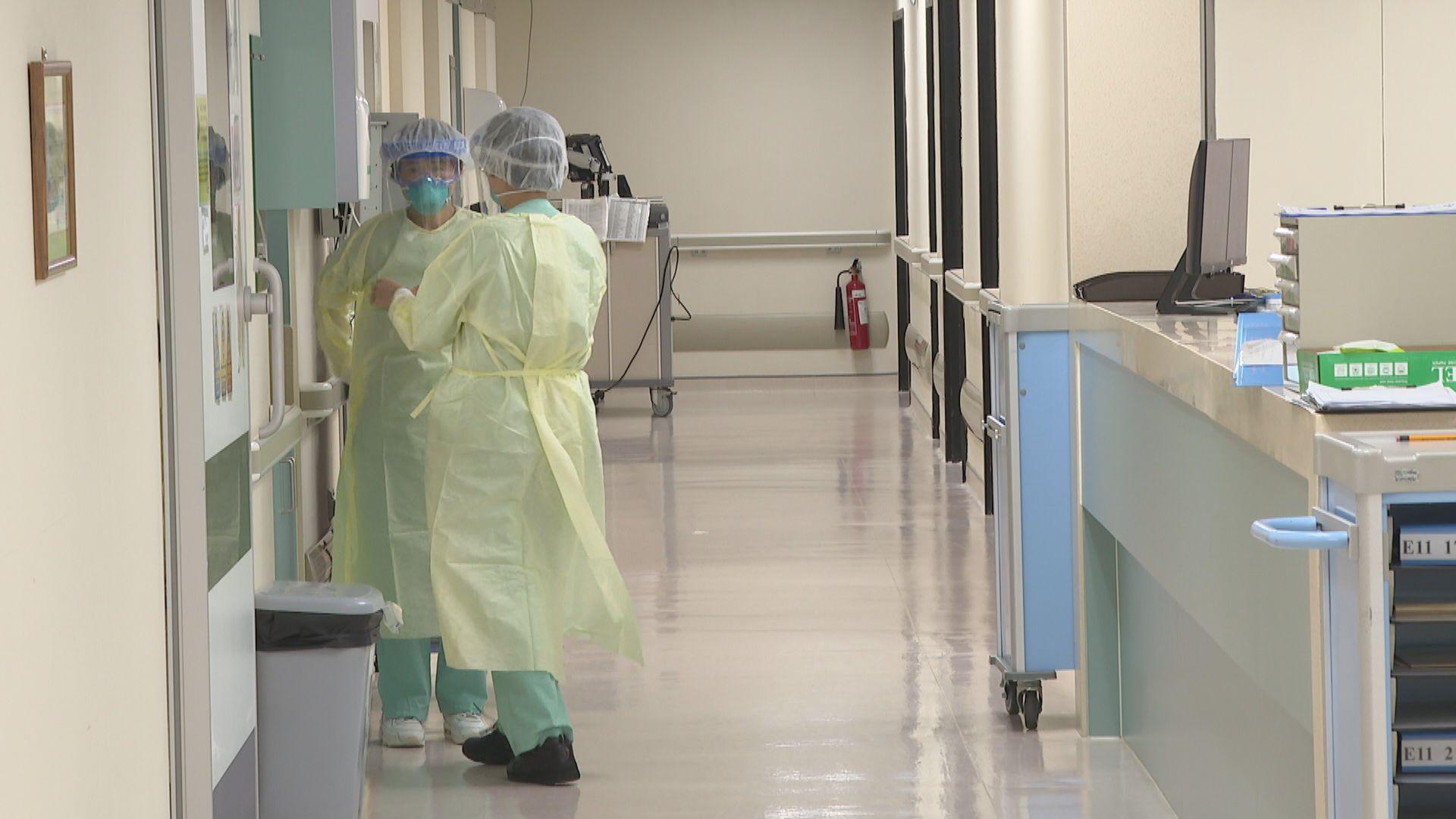 百多名確診者正等候入院 醫管局籲耐心等候入院勿衝急症室