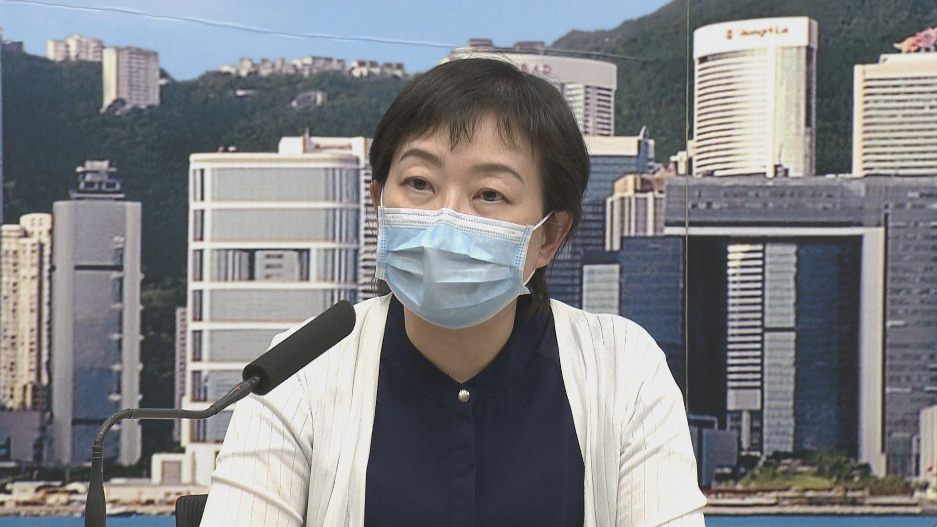 張竹君:確診數字減少不代表疫情回落 需再觀察幾天