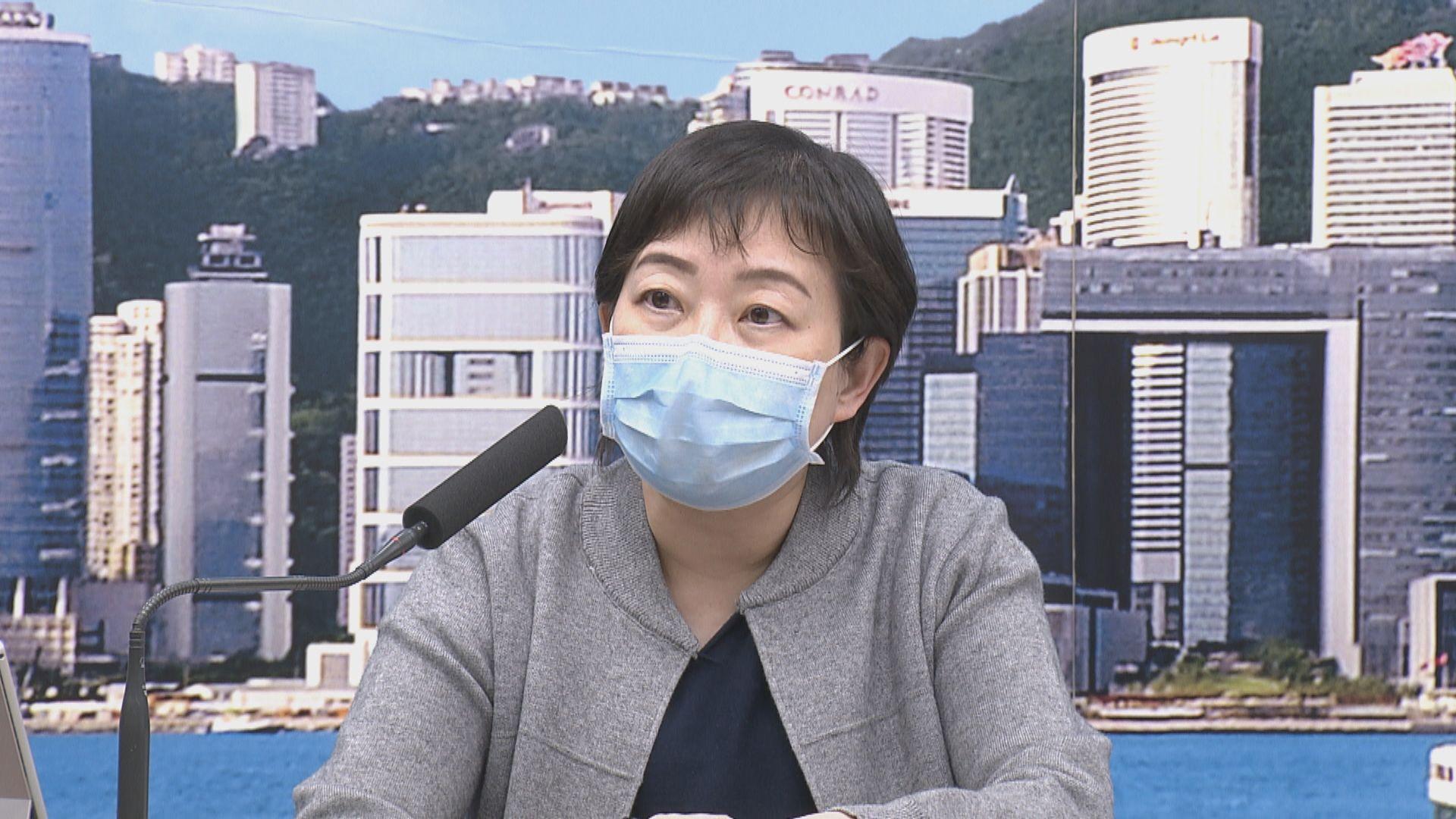 張竹君:疫情未完全受控 放寬措施易有反彈