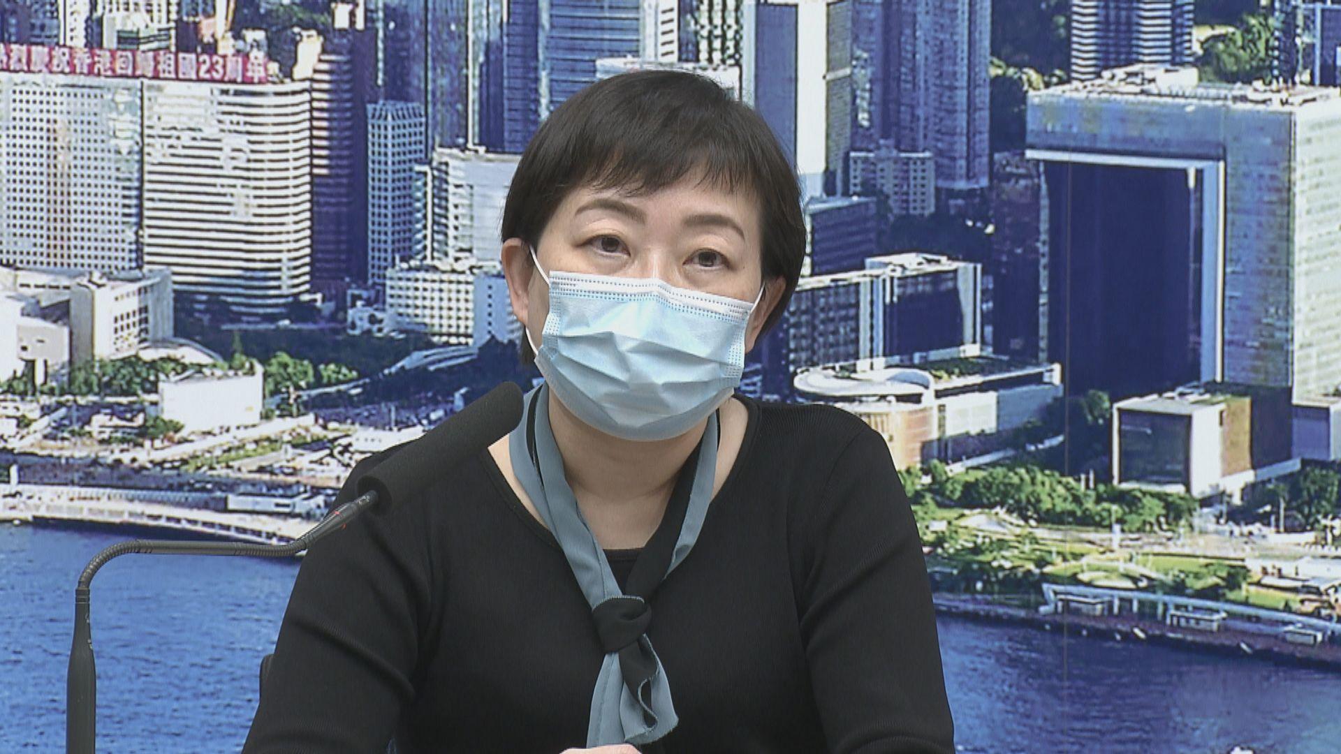 張竹君:全民檢測有助截斷傳播鏈 但不可掉以輕心