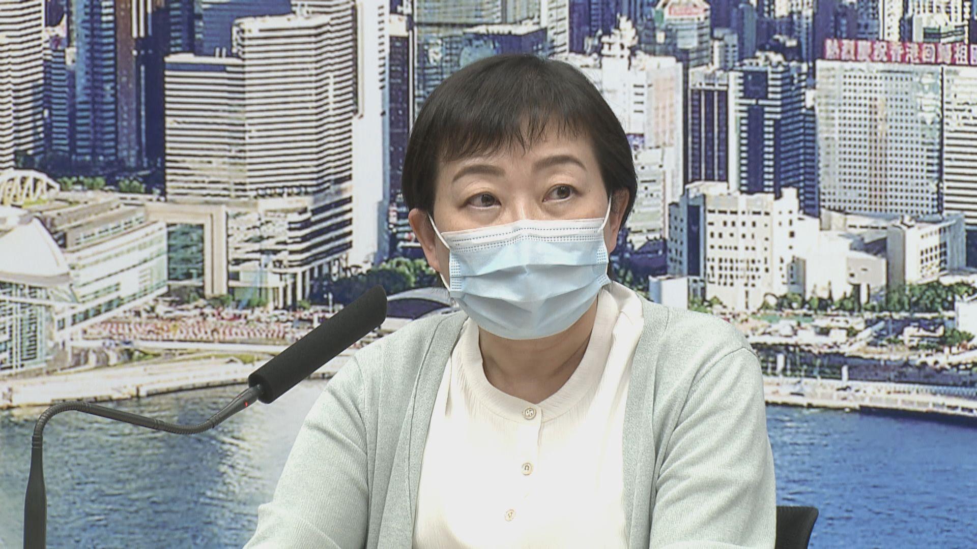 張竹君:不開記者會不代表病毒傳播風險已減低