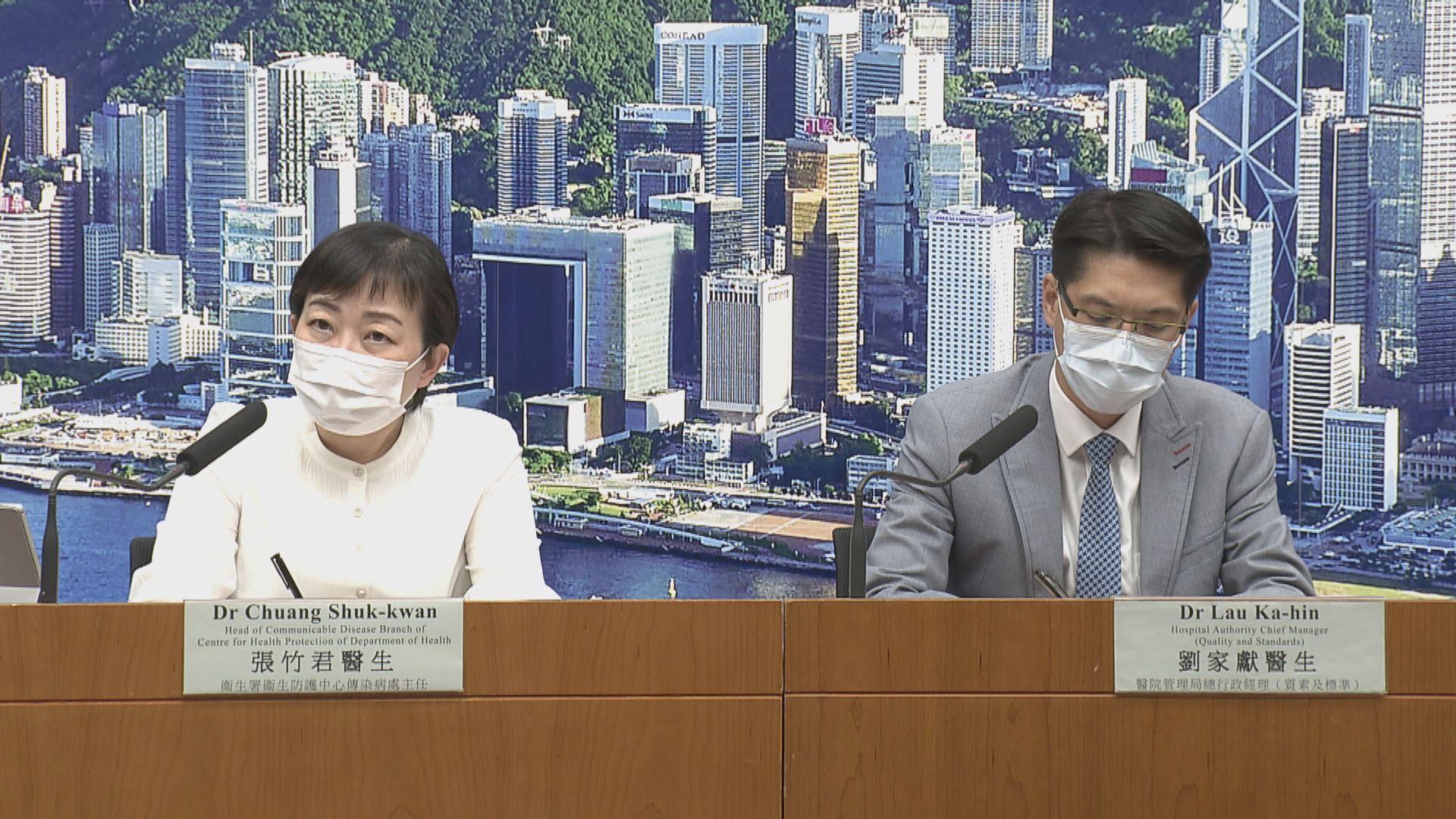 本港新增8宗新冠病毒確診個案 5宗屬本地感染