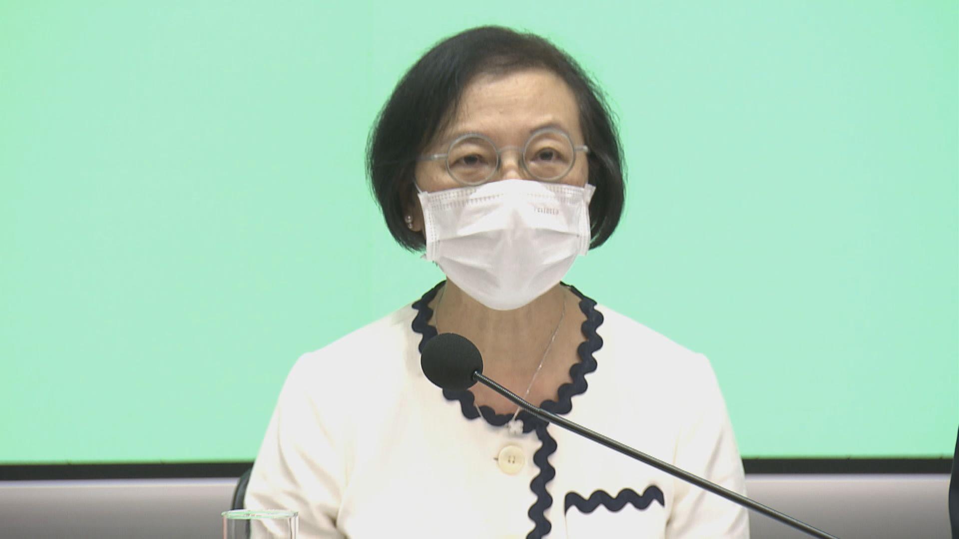 陳肇始:整體疫情有反彈迹象 會評估各項防疫措施