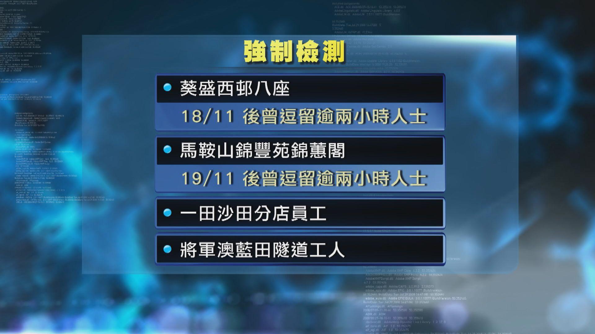 本港新增104宗確診 四個群組須接受強制檢測