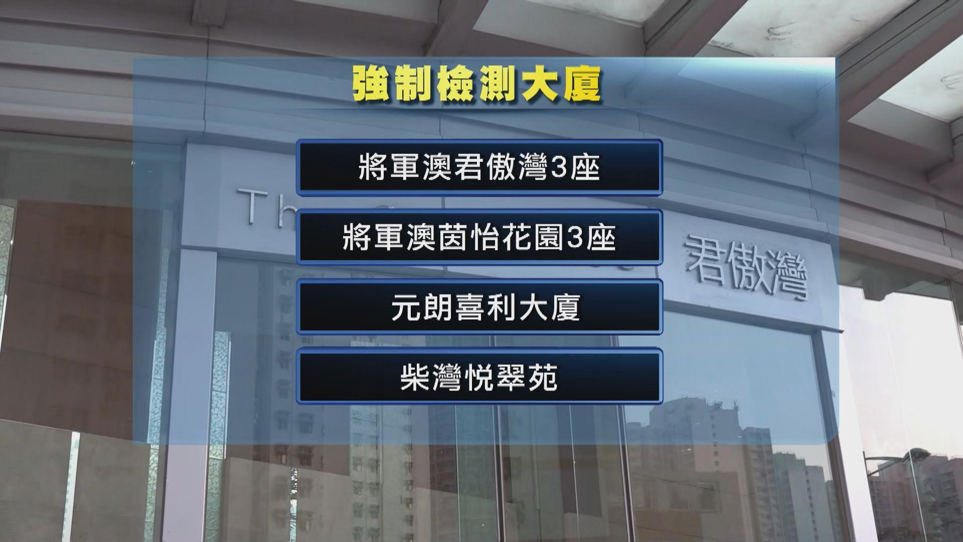 金威廣場四個C座單位有確診 專家到場調查