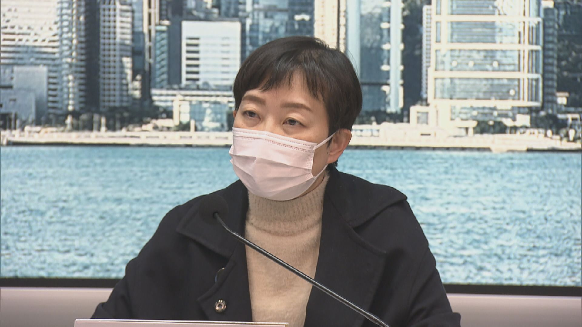 張竹君:地盤工人屬高危群組 建議應定期測試