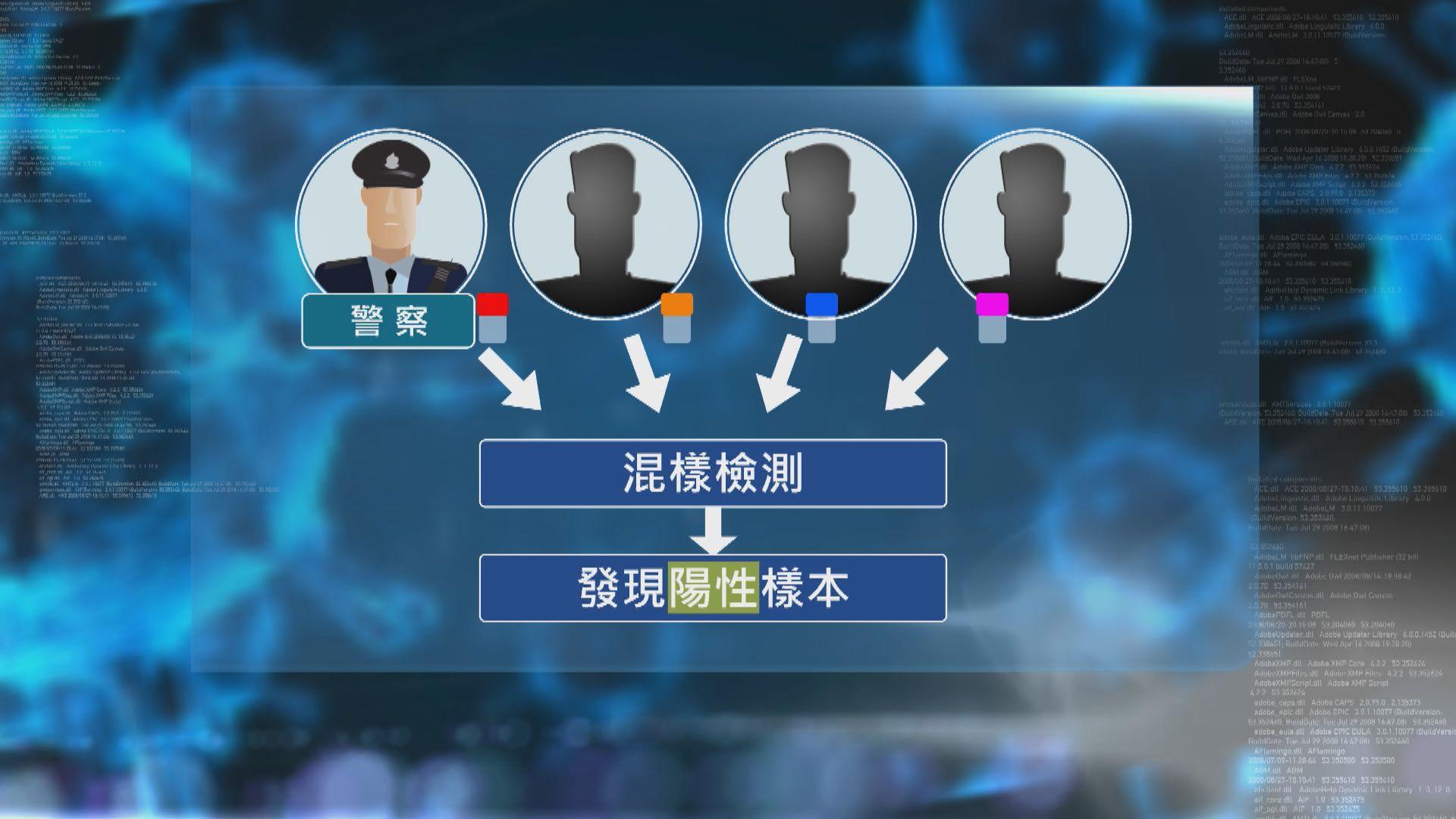 據了解當局正追查確診男警檢測過程是否出錯