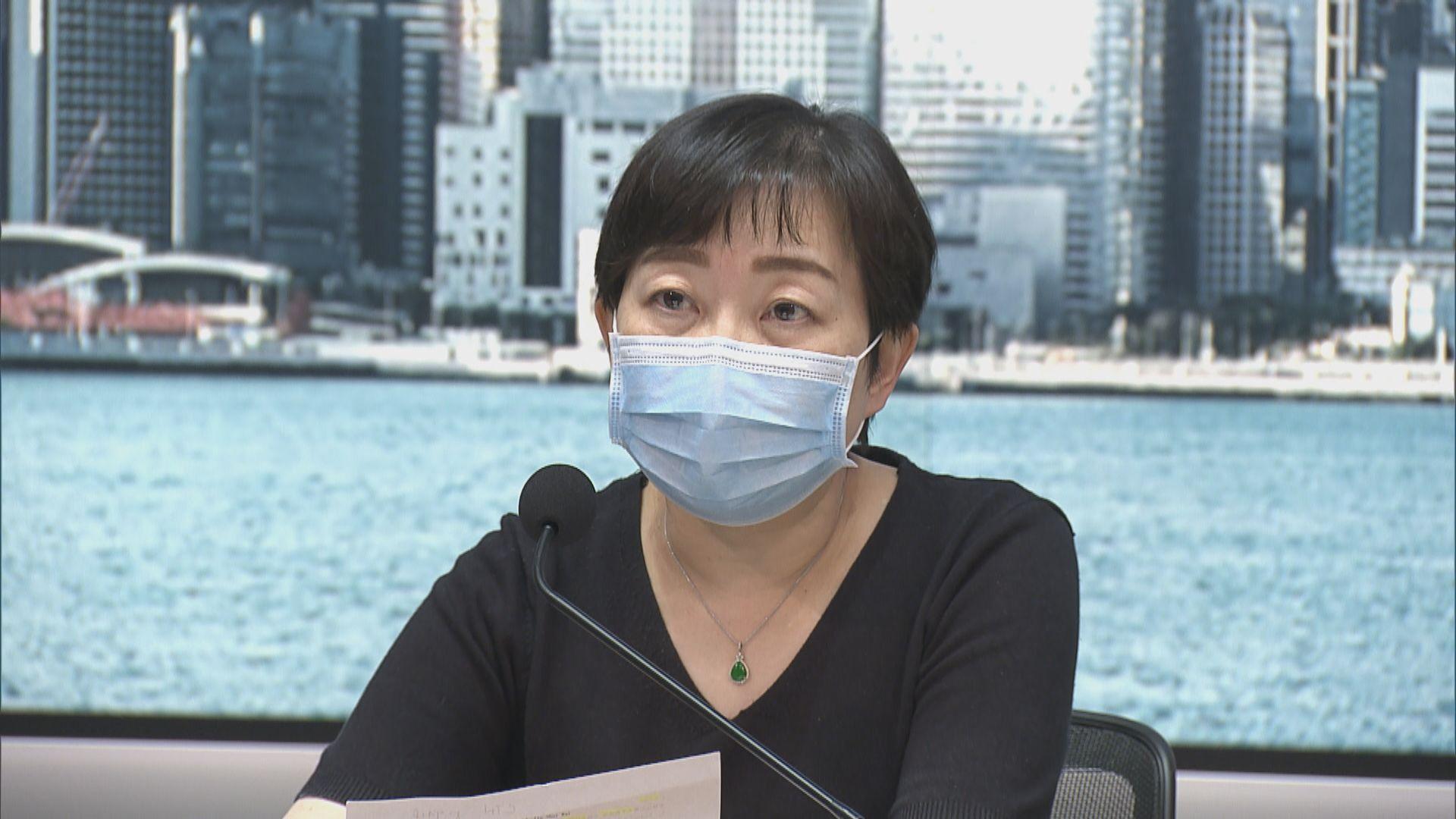 張竹君:涉英國變種病毒個案感染源頭暫無線索