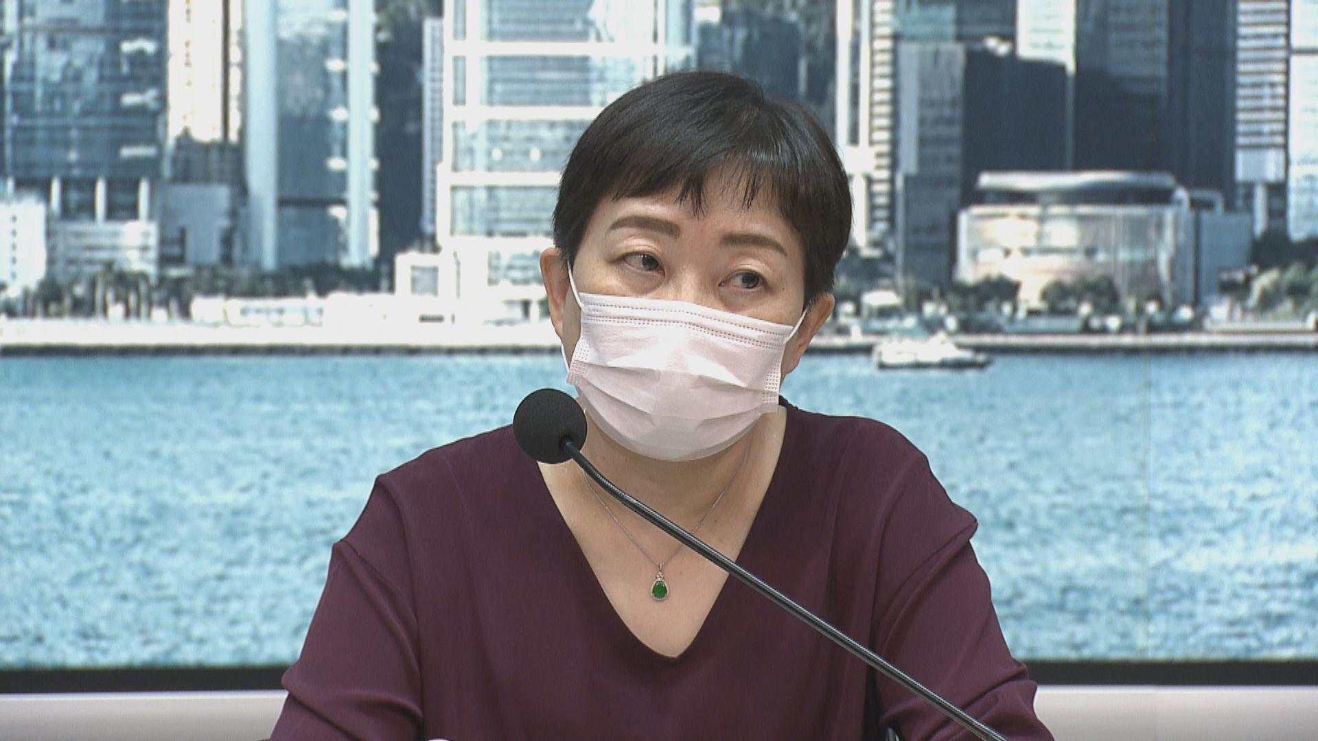 張竹君:相信帶變種病毒患者在機場感染的機會較大