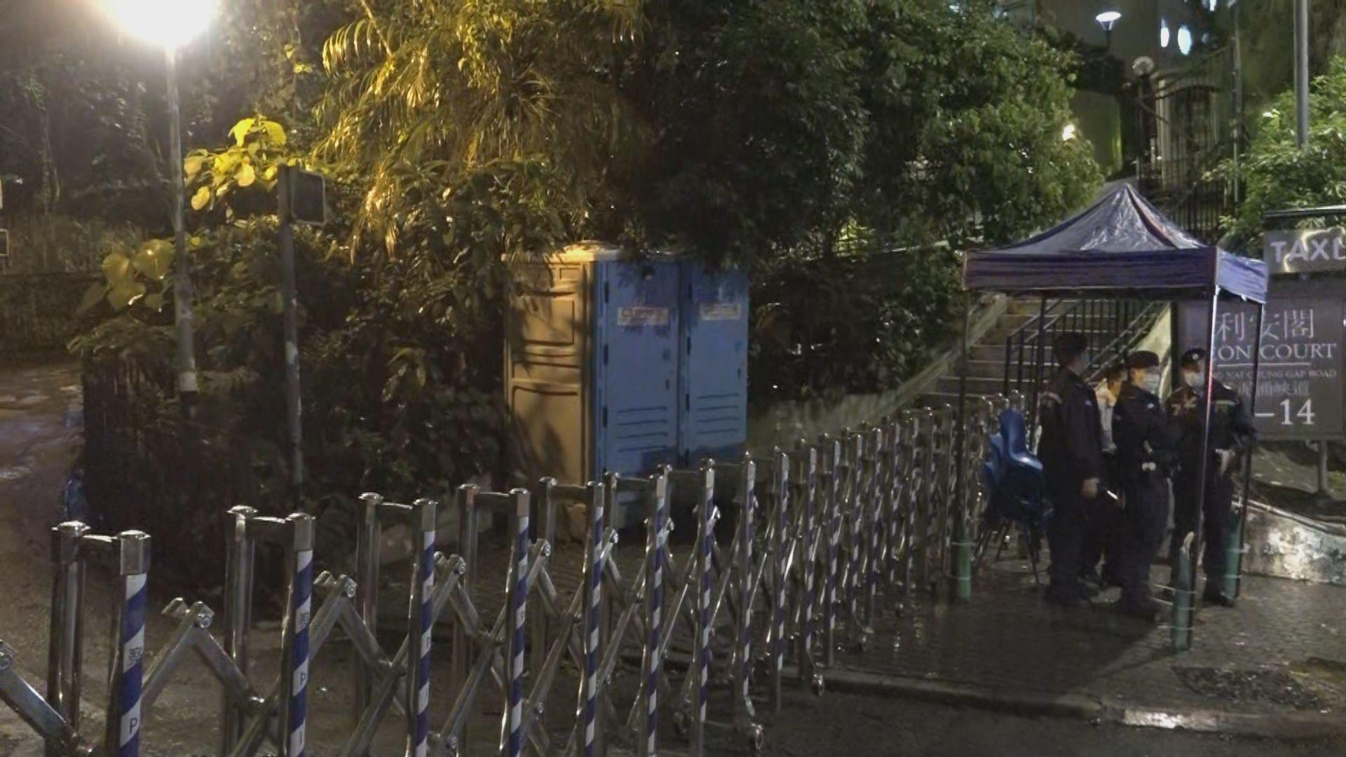 39歲男子法國返港後確診 政府圍封居住大廈強檢