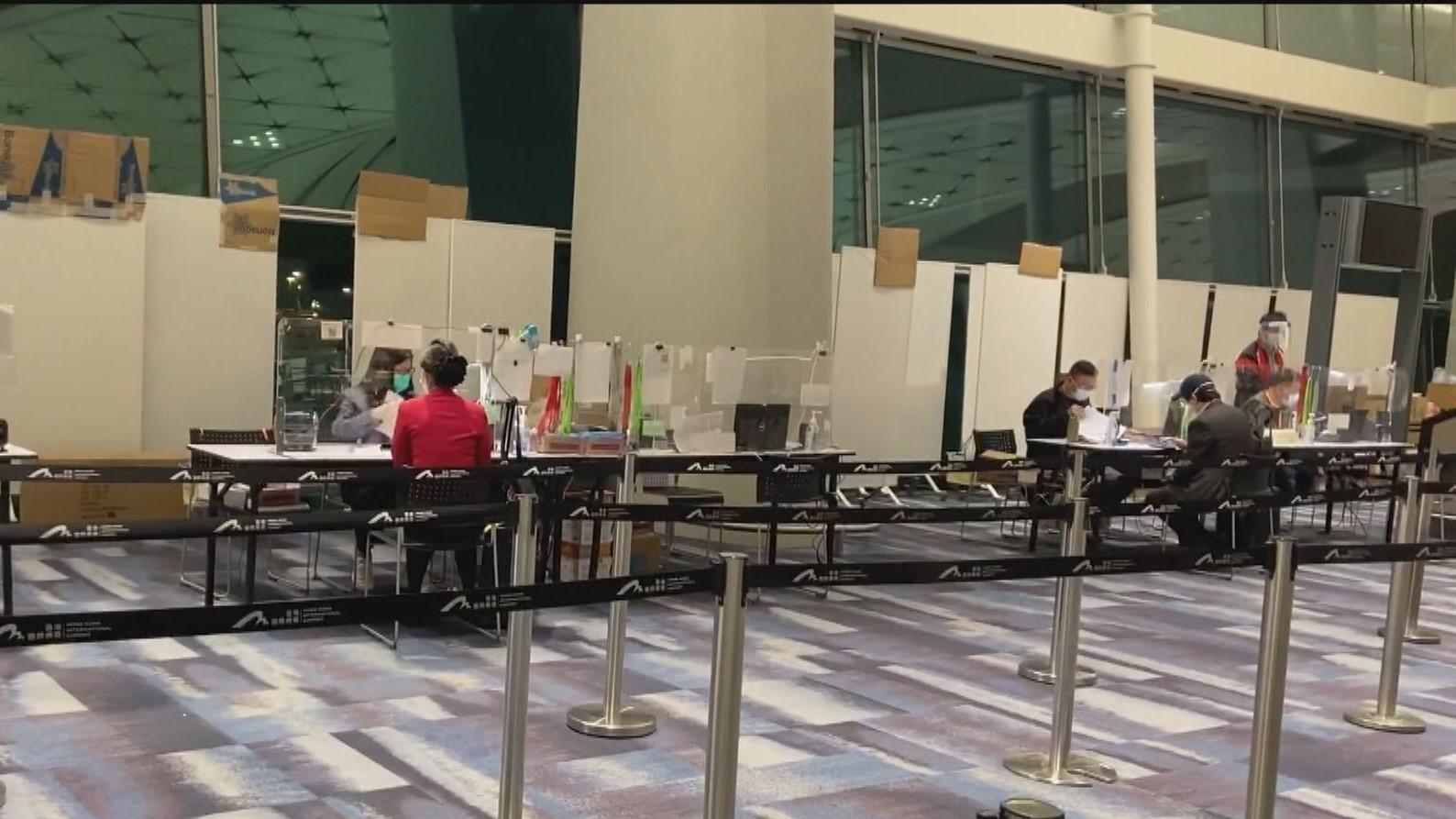 本港增四宗輸入確診 包括兩名菲律賓抵港外傭
