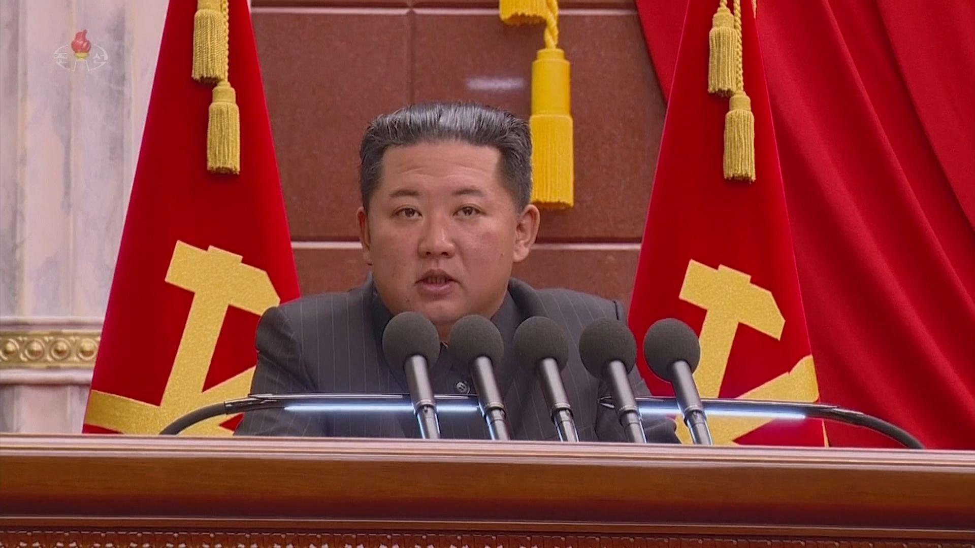 金正恩下令完善北韓式防疫體系