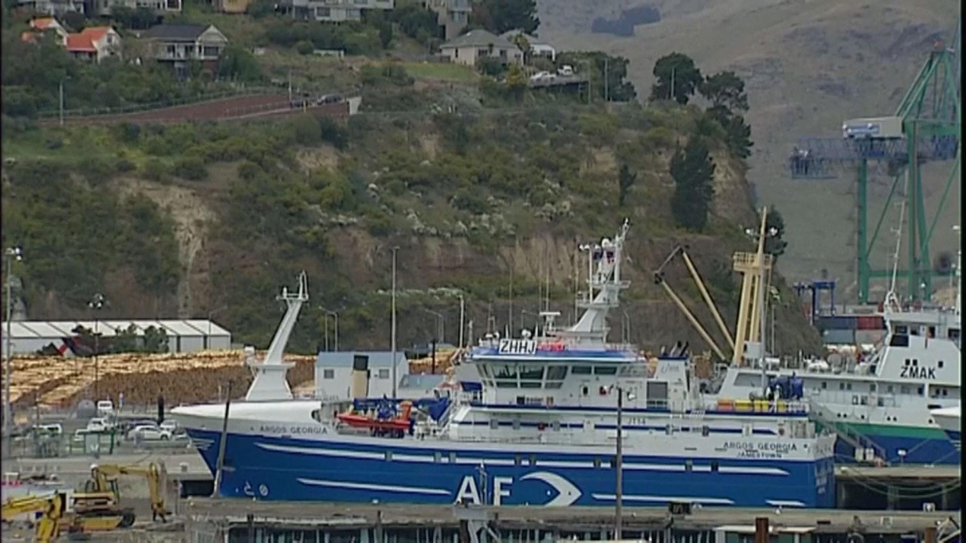 逾十名外地船員抵新西蘭後確診