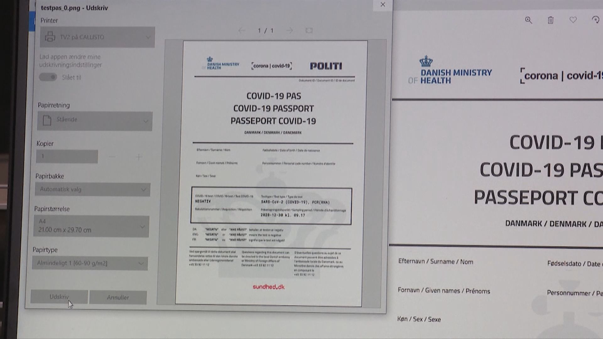 丹麥瑞典擬數月內發「疫苗護照」 專家憂帶來歧視