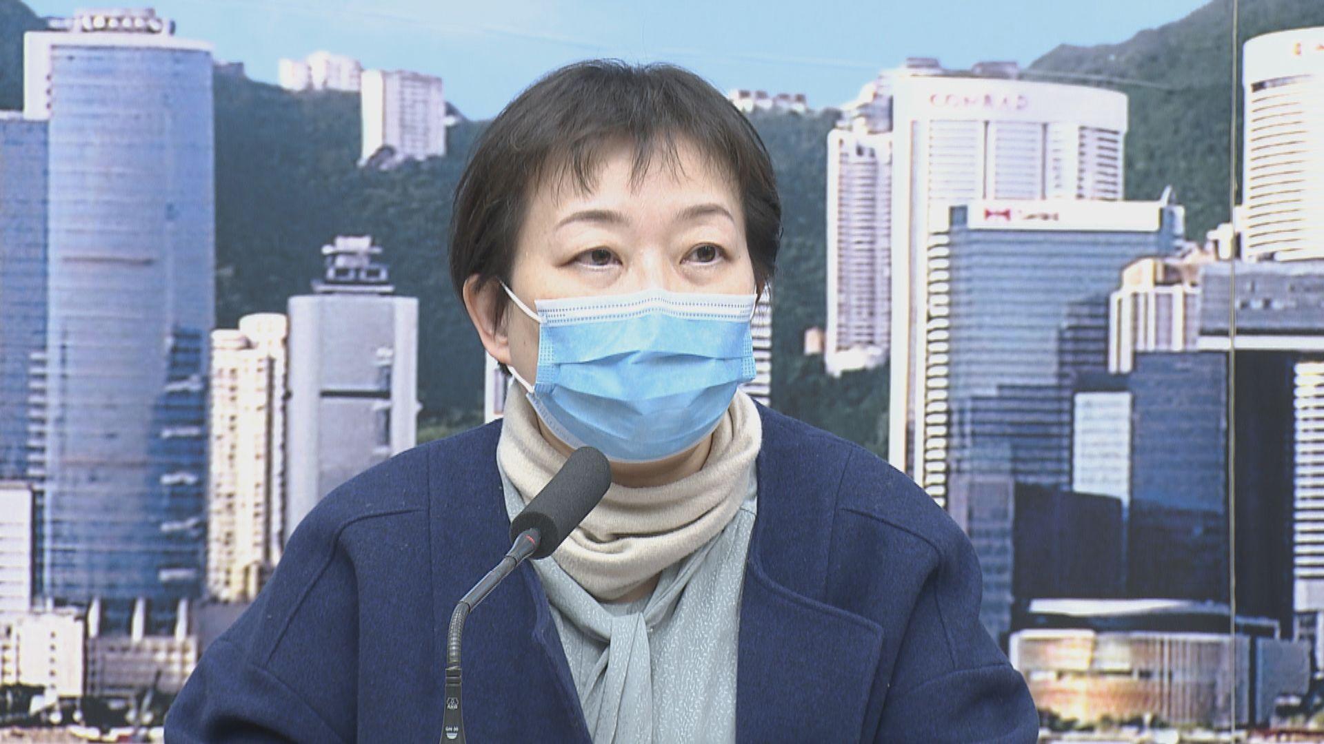 患者上周內地返港後曾求醫 但無發燒未有隔離