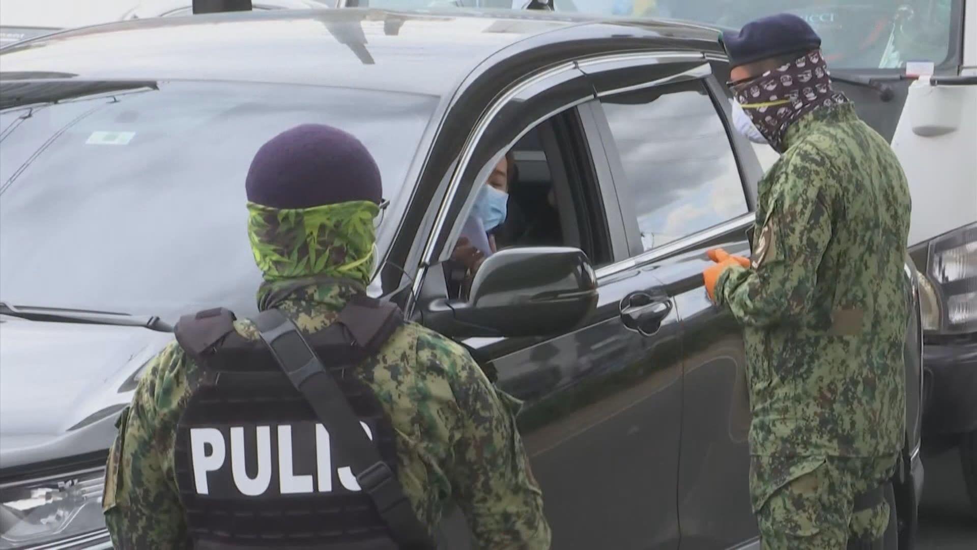 菲律賓疫情加劇 首都及周邊地區實施封城