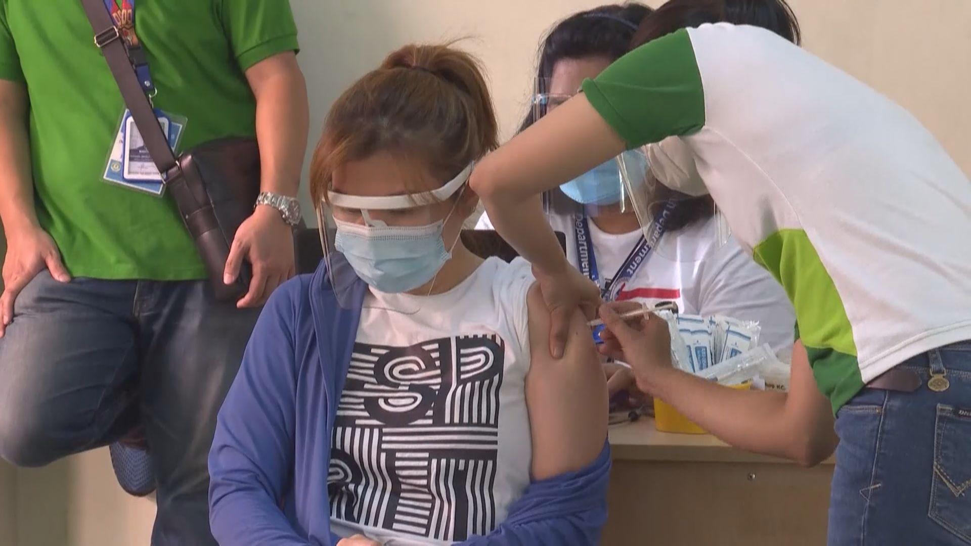 菲律賓總統:不接種新冠疫苗有可能要收監