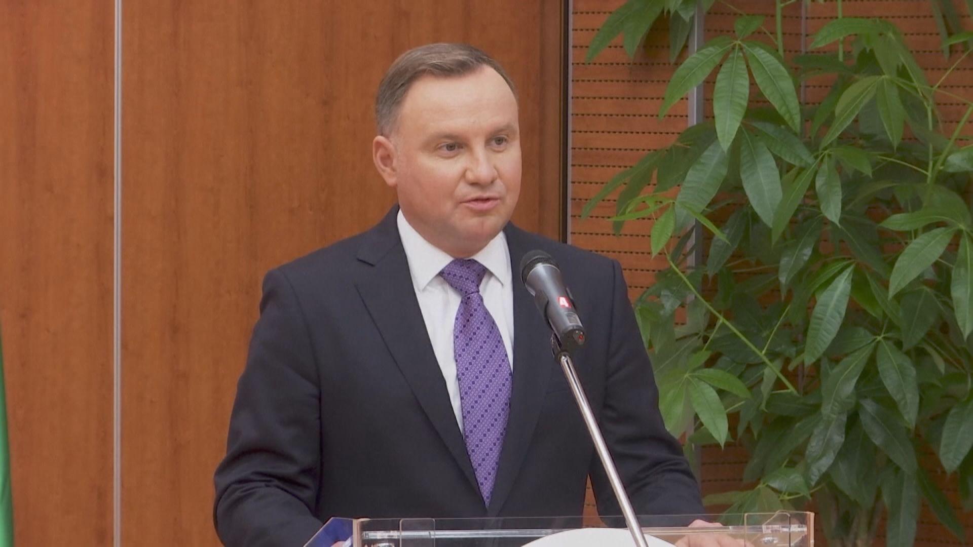 波蘭總統杜達確診感染新型冠狀病毒