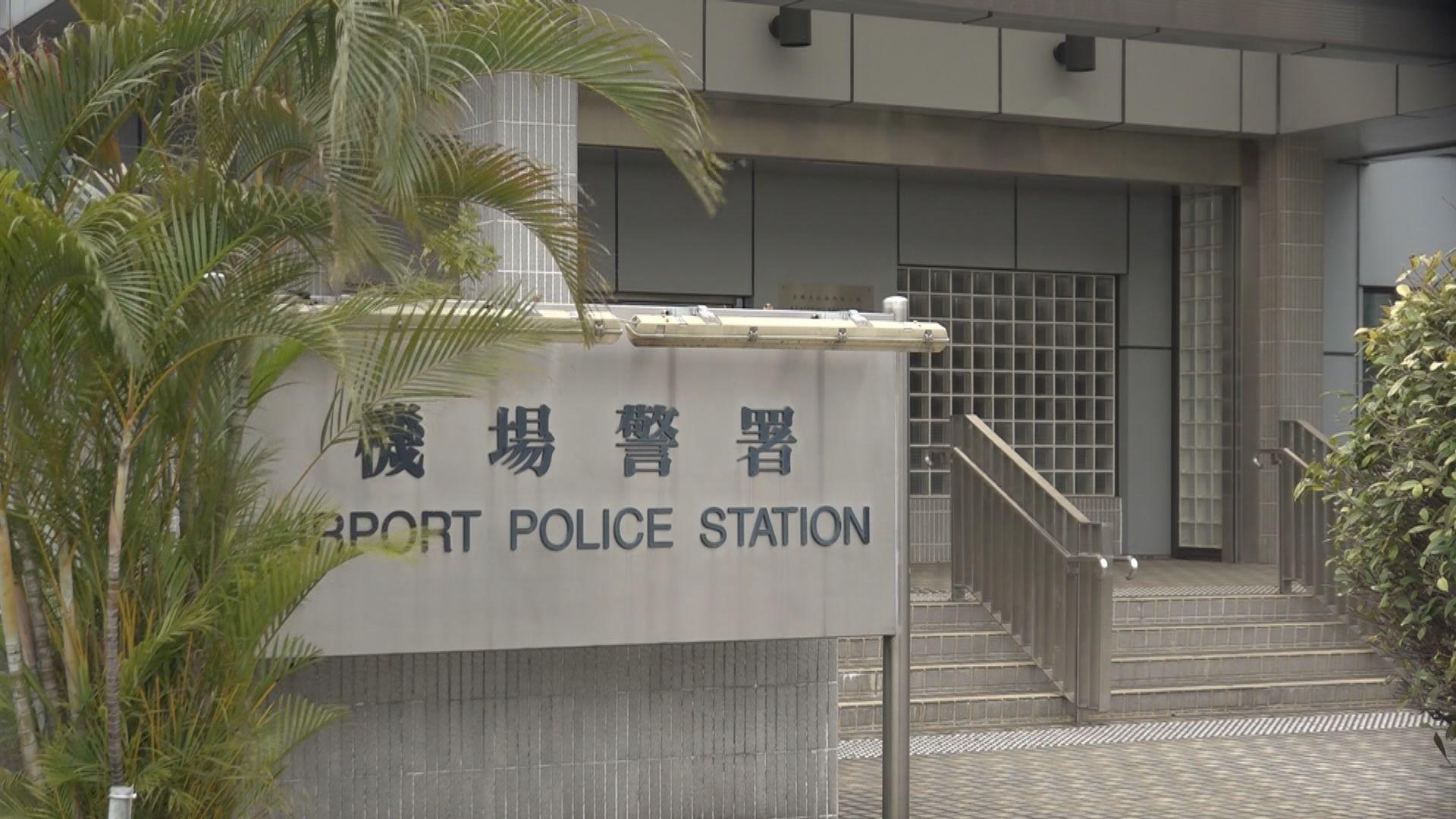 再多一名駐守機場警區的警員初步確診