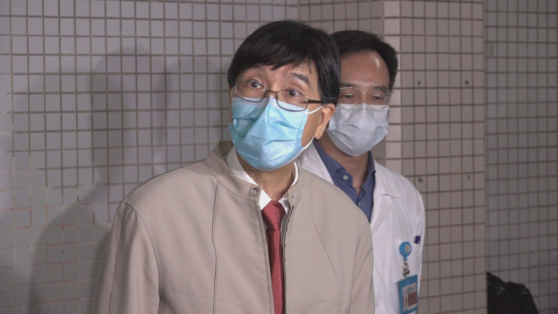 袁國勇:伊院首名染疫92歲女病人確診前於病格內散播病毒