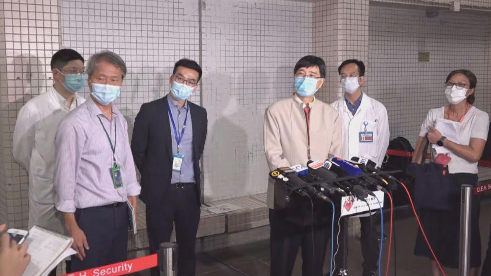 袁國勇建議長者入院要進行新冠病毒測試
