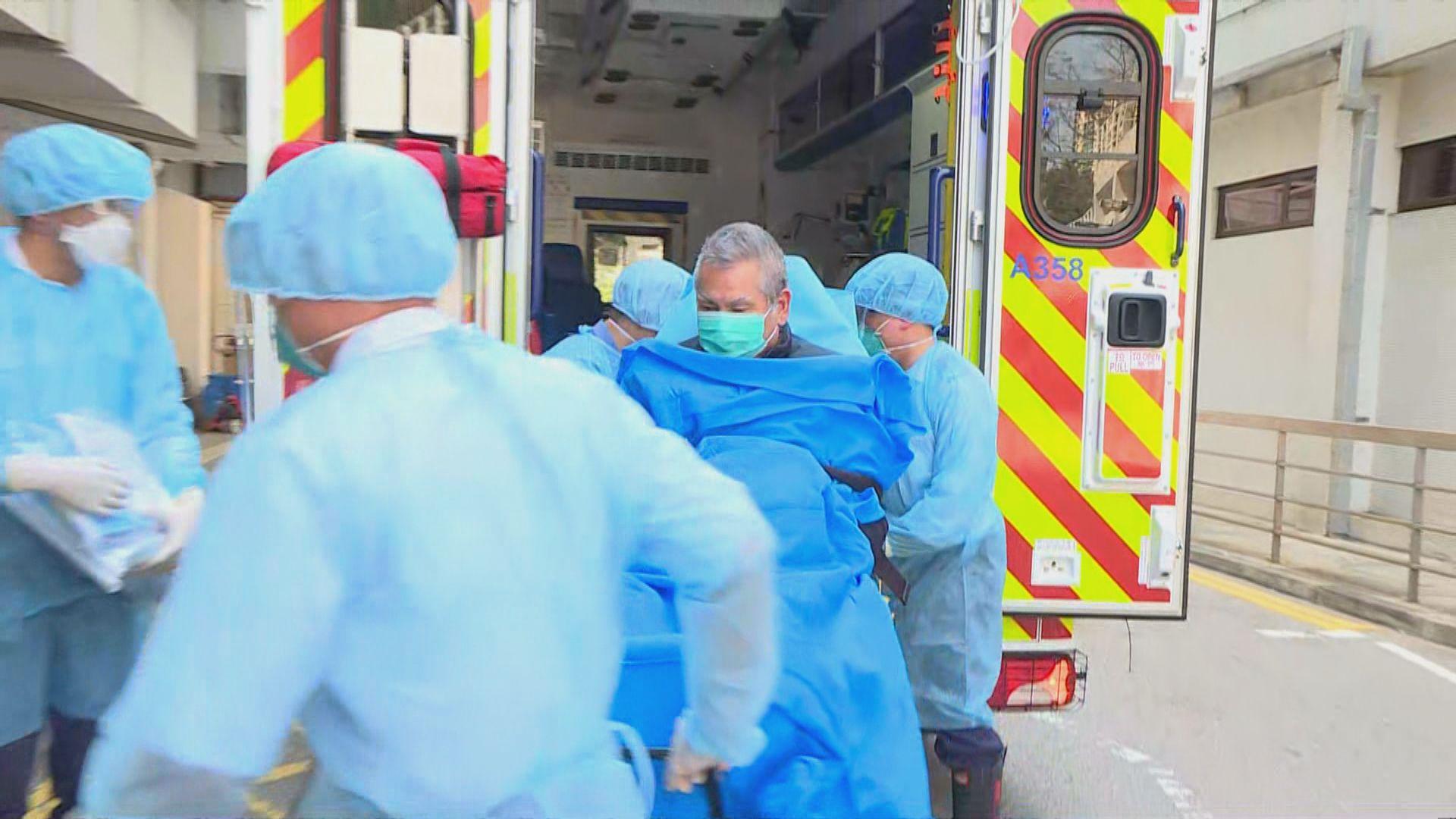 駿洋邨檢疫中心68歲男子發燒被送伊院