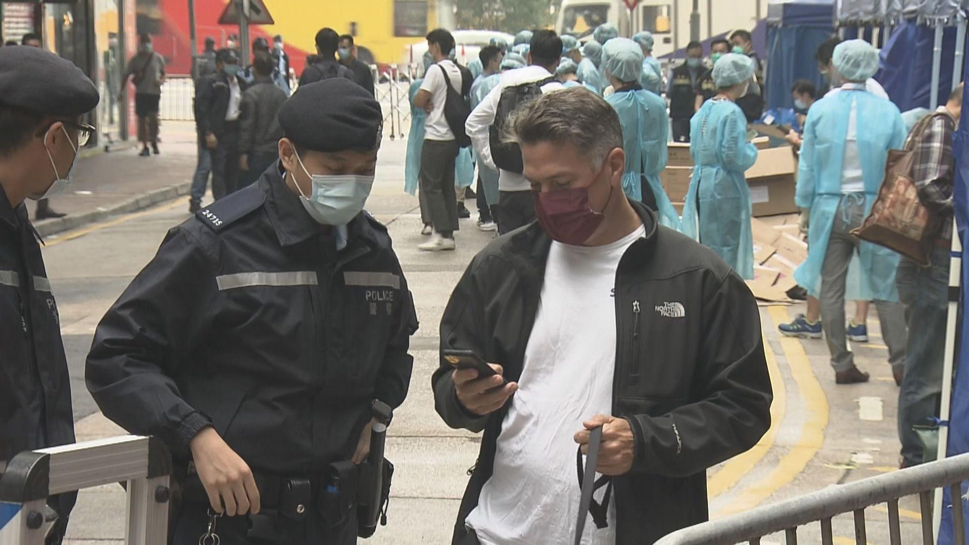 西營盤及銅鑼灣圍封三廈逾二千人檢測 暫未發現確診